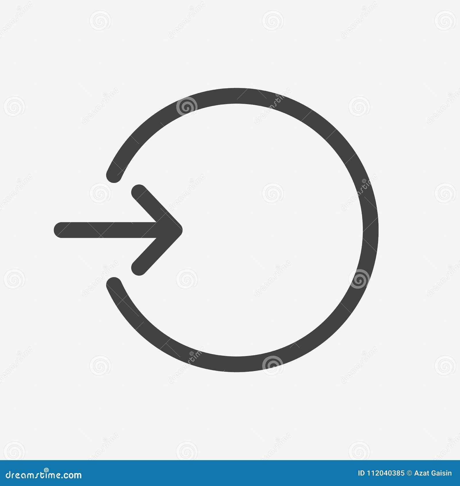 Melden Sie Ikone an, autorisieren Sie Ikone, Anmeldungszeichen Anmeldungsikone Symbol der offenen Rechnung, registrieren neuen Be