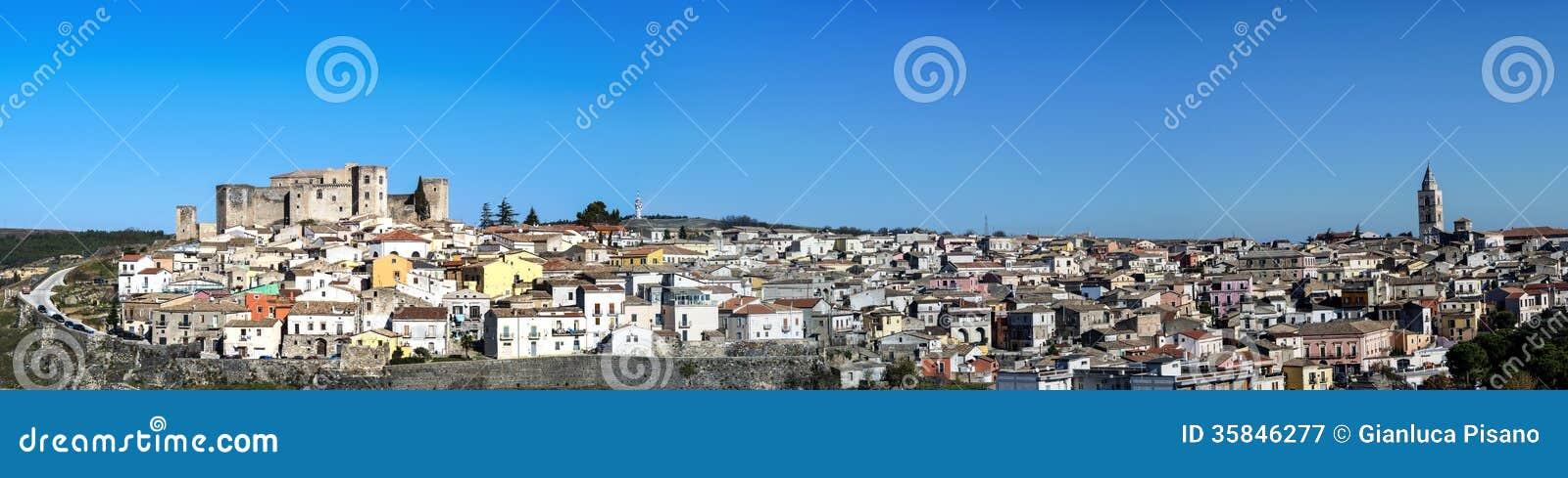 Melfi panoramic landscape