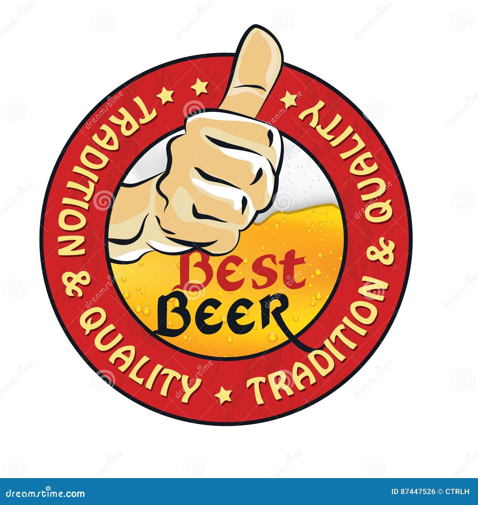 316c77bb95e0 A Melhor Cerveja, A Tradição E A Qualidade - Etiqueta Imprimível ...