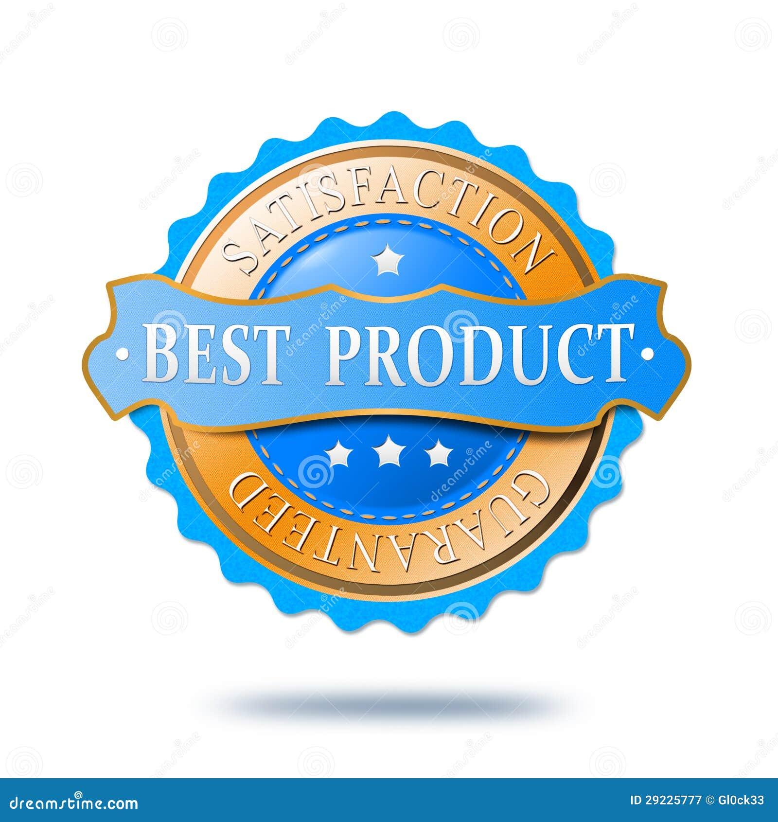 Download A Melhor Etiqueta Do Produto Ilustração Stock - Ilustração de loja, venda: 29225777