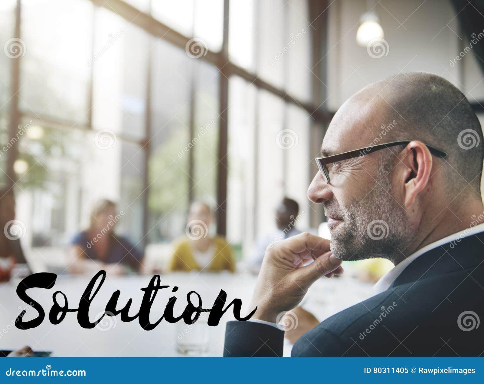 A melhoria da descoberta da decisão da solução resolve o conceito