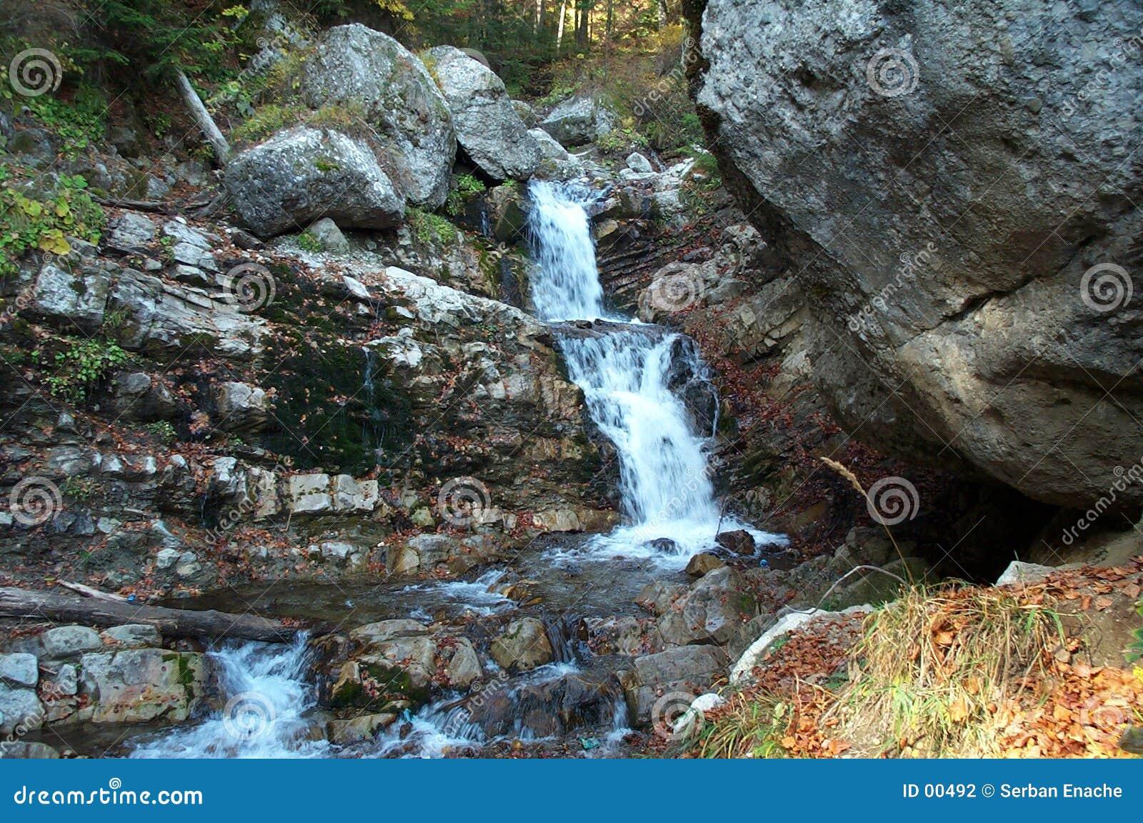 Melkachtige waterval 2