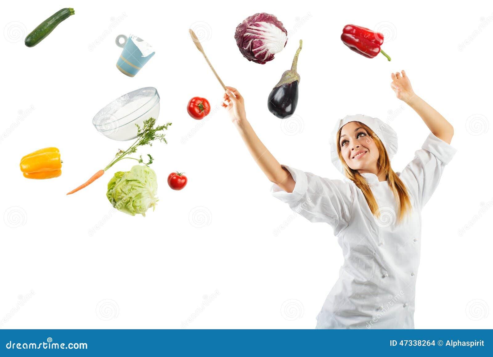 Melodie beim Kochen