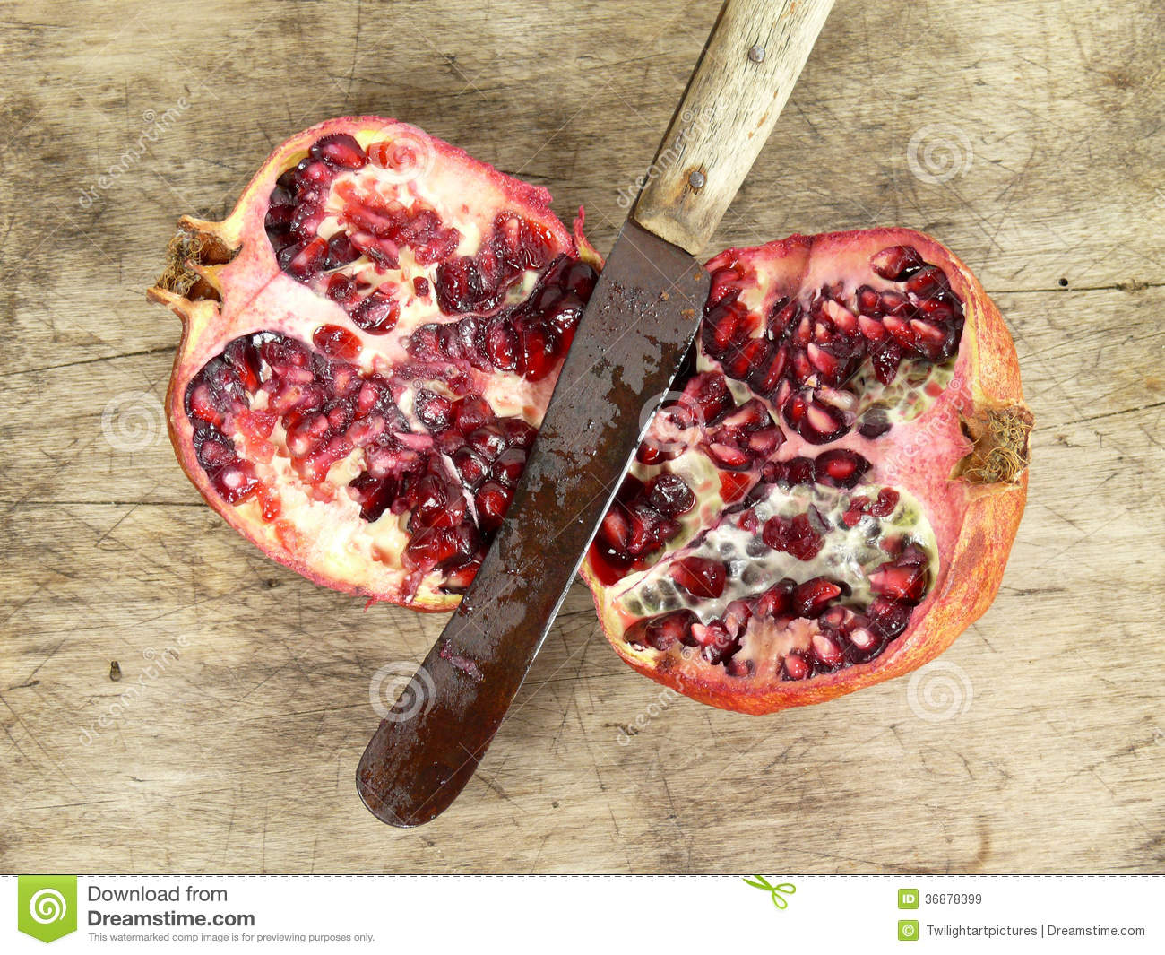Download Melograno immagine stock. Immagine di frutta, fell, vita - 36878399