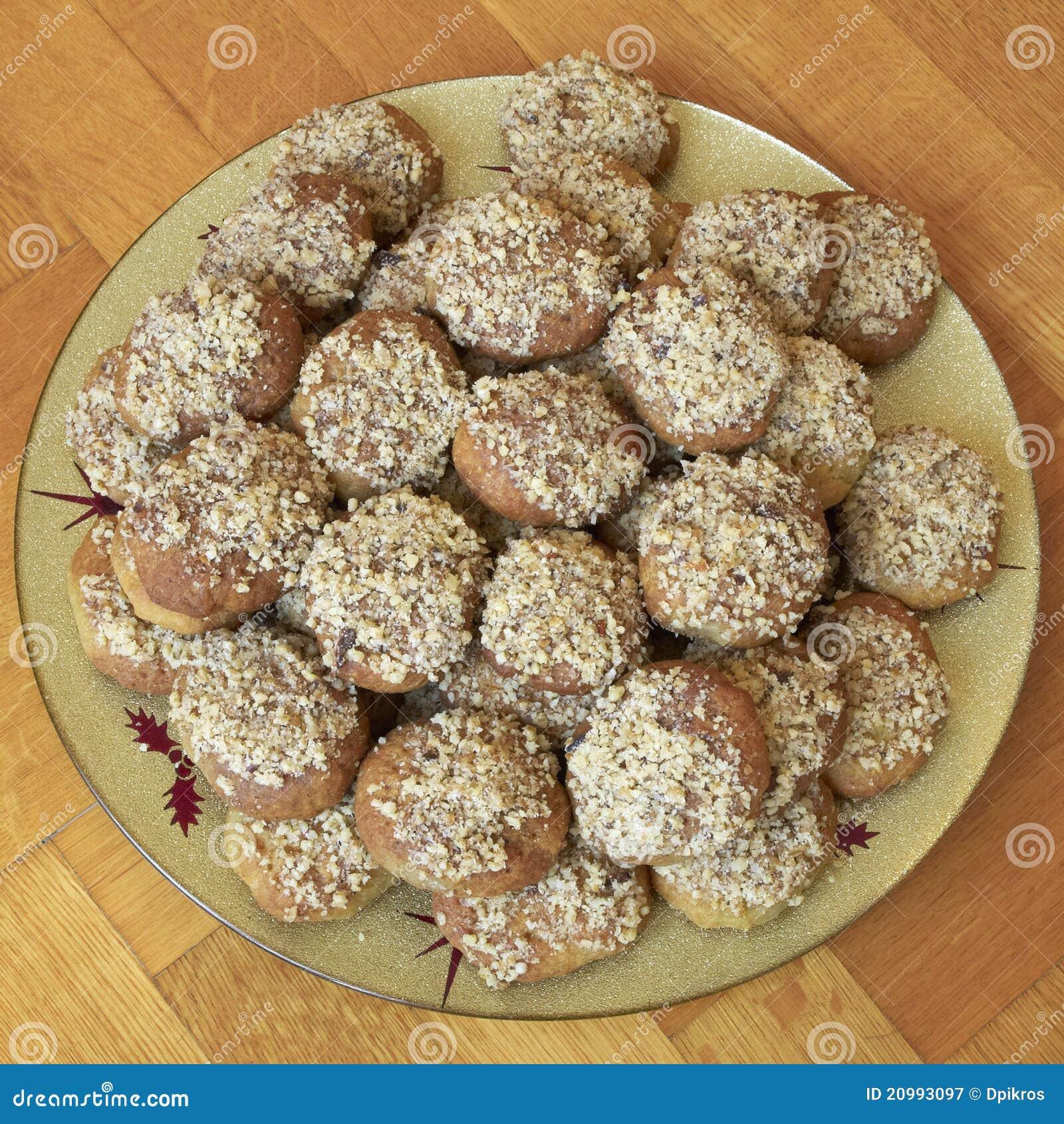 Melomakarona, Greek Traditional Christmas Cookies Royalty ...
