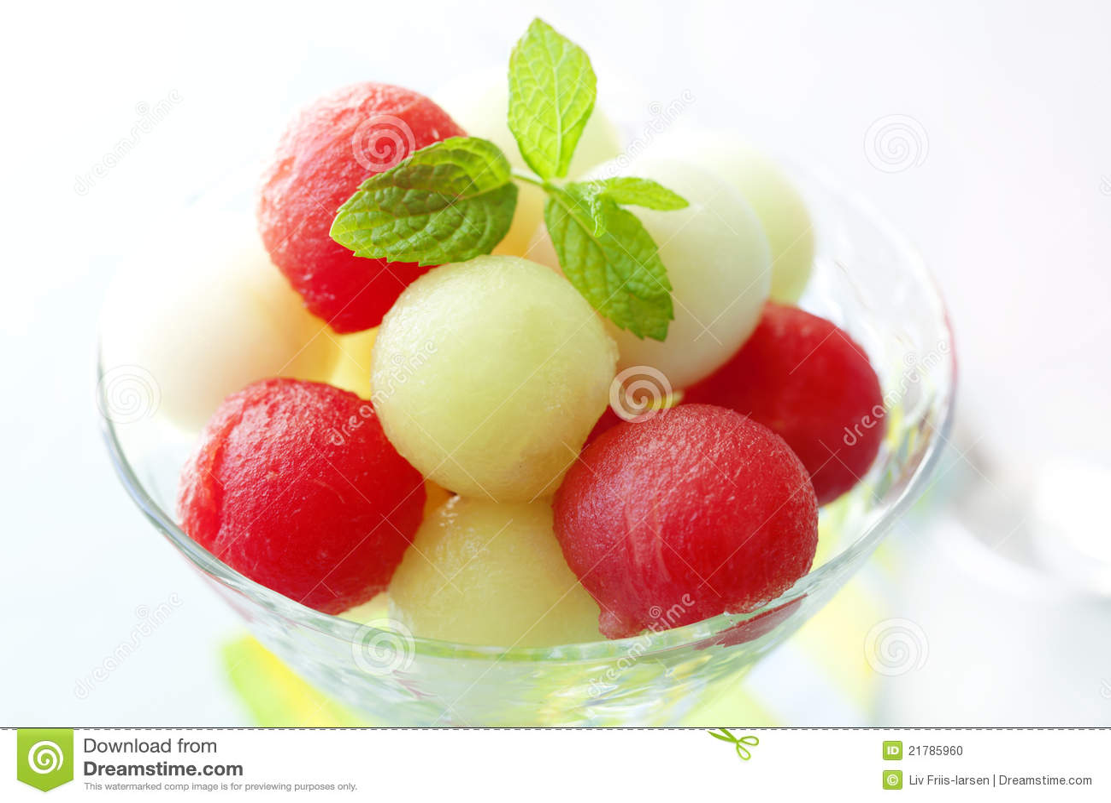 Melon Balls Stock Photo - Image: 21785960