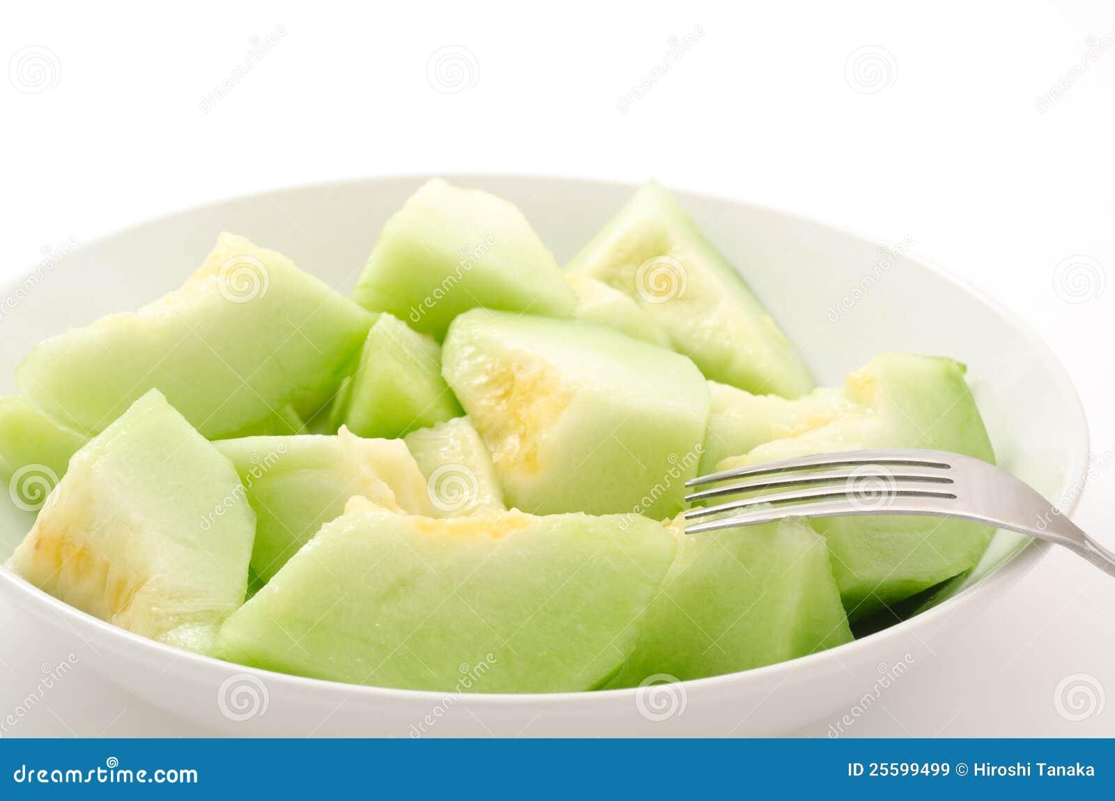 Melon classé par dégagement