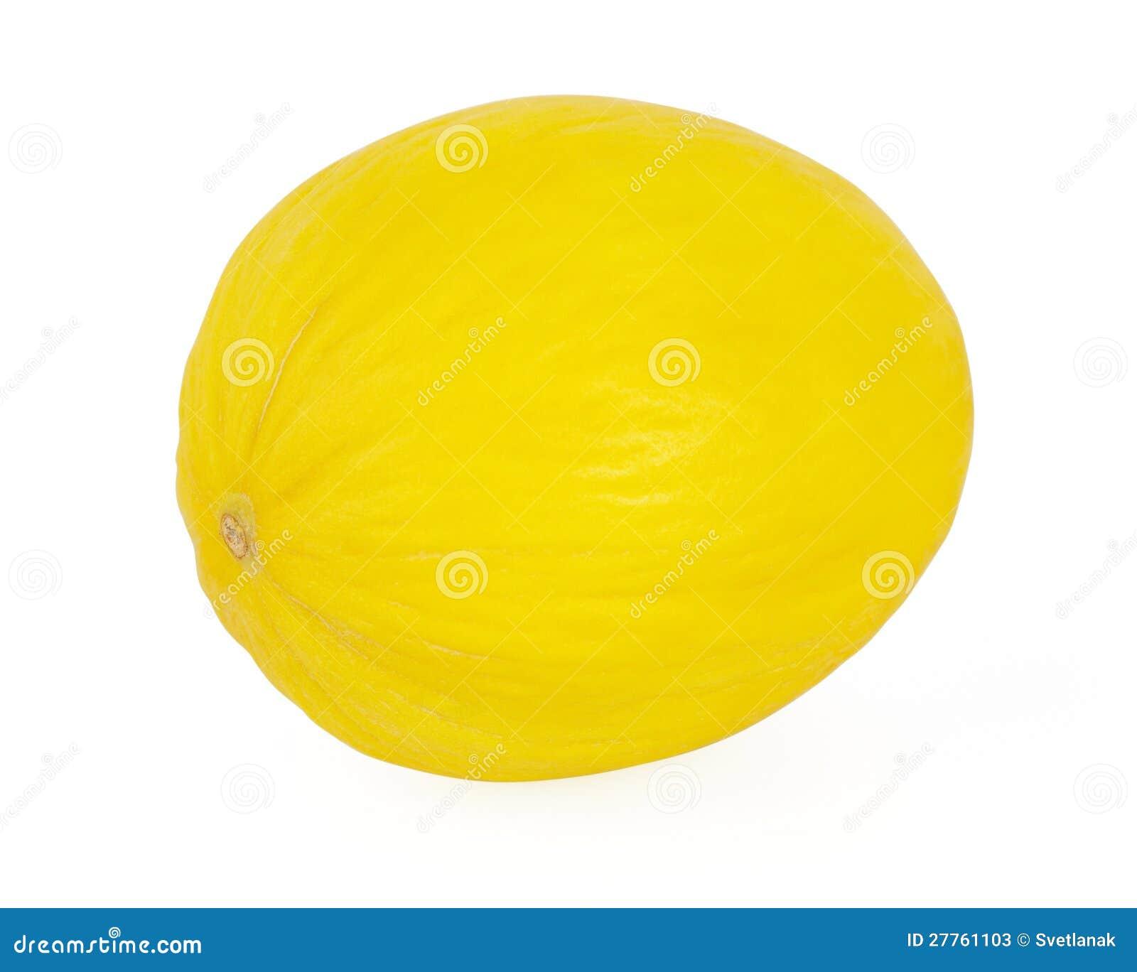Melon d isolement sur le blanc