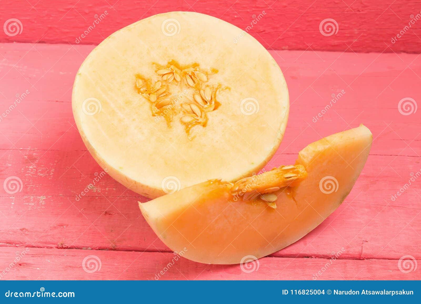 Melon &-x28; sunlady&-x29; plasterek halfback na drewno menchiach