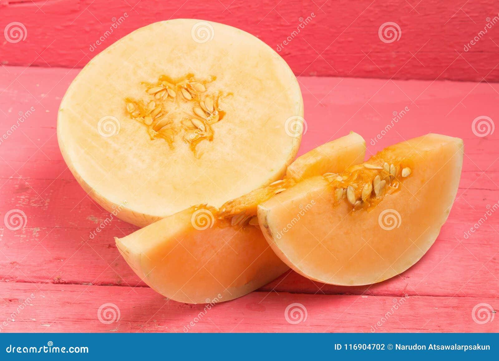 Melon & x28; sunlady& x29; plasterek halfback na drewno menchiach
