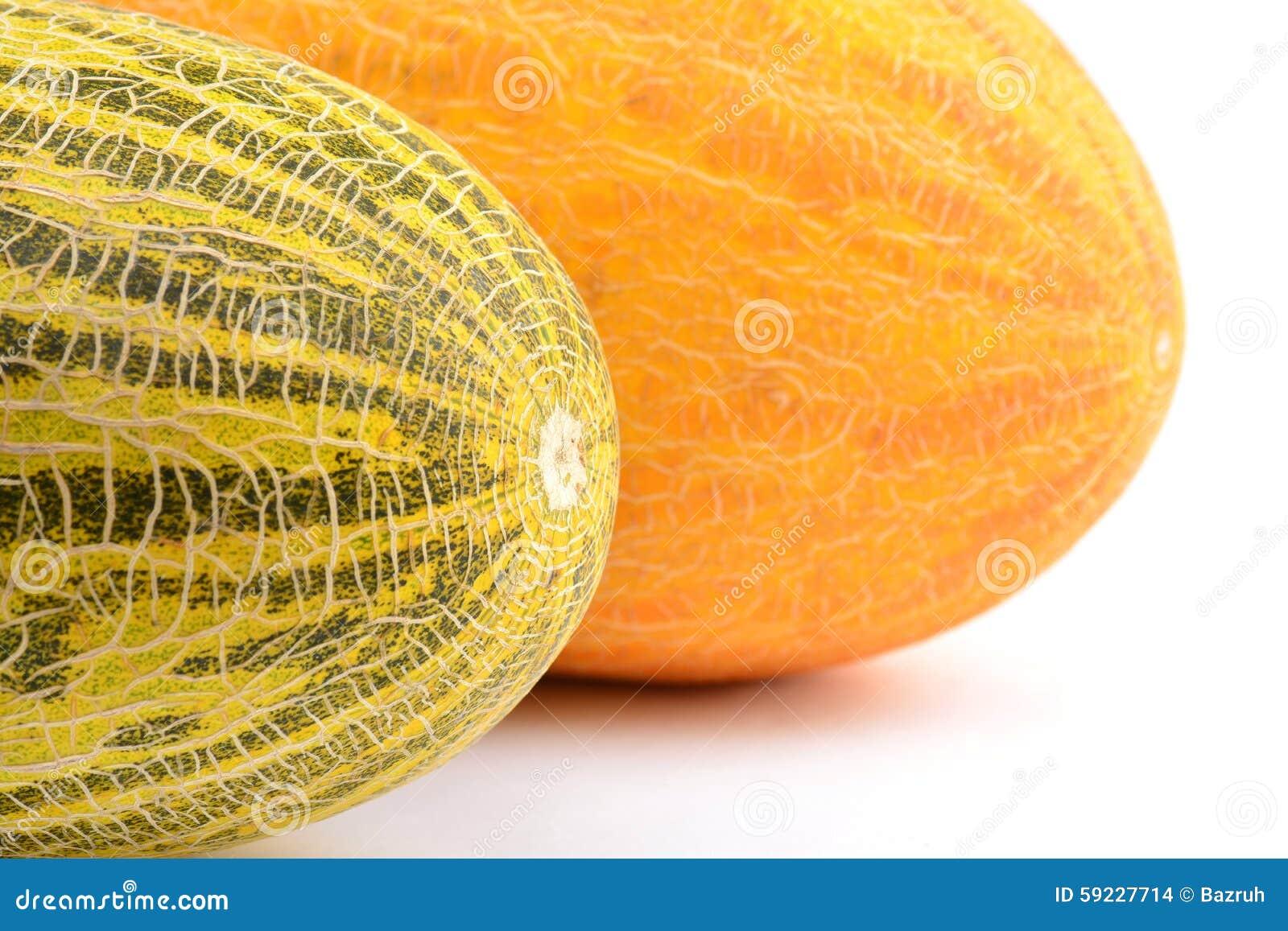 Melones amarillos enormes