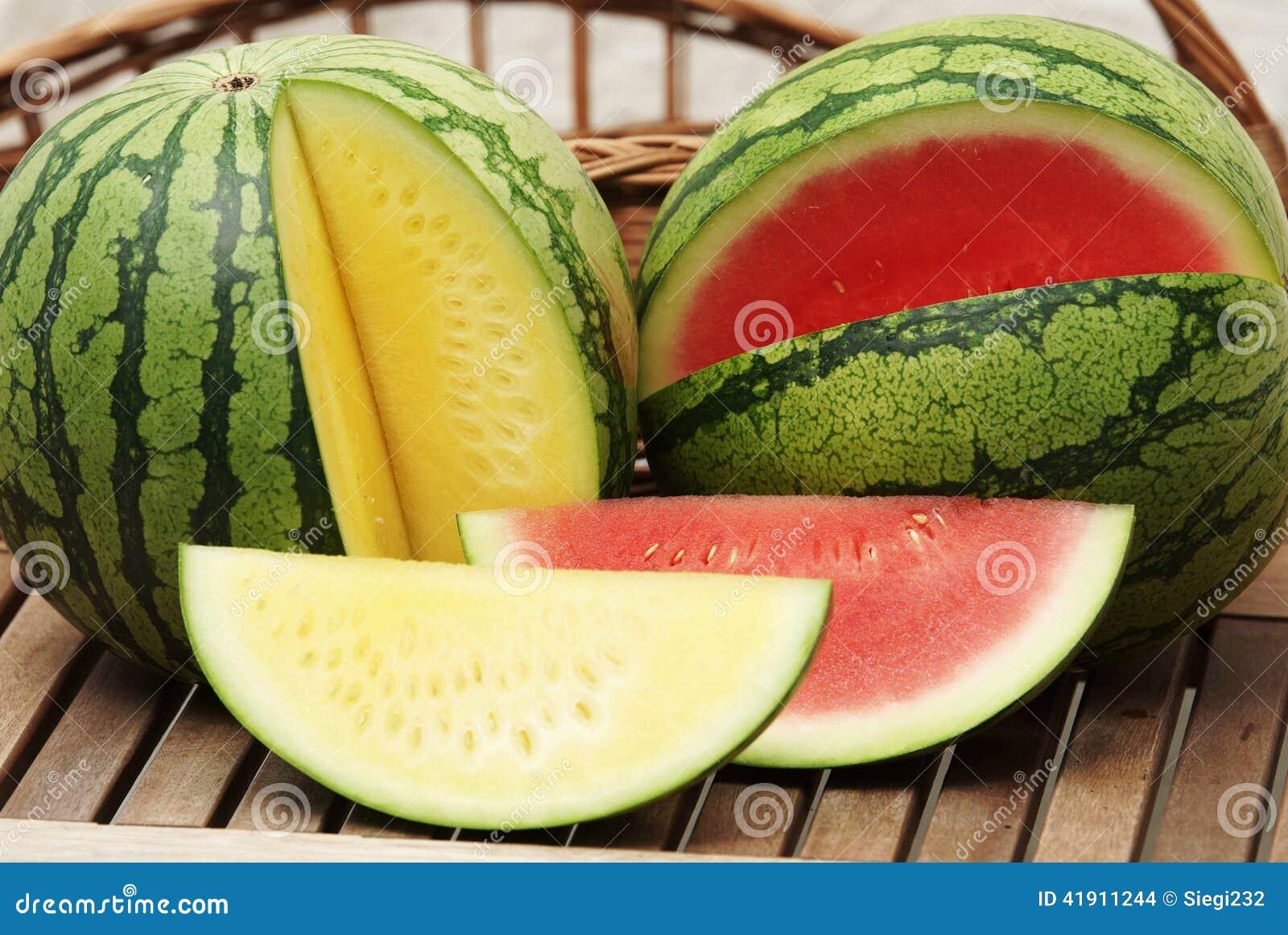 Melones frescos