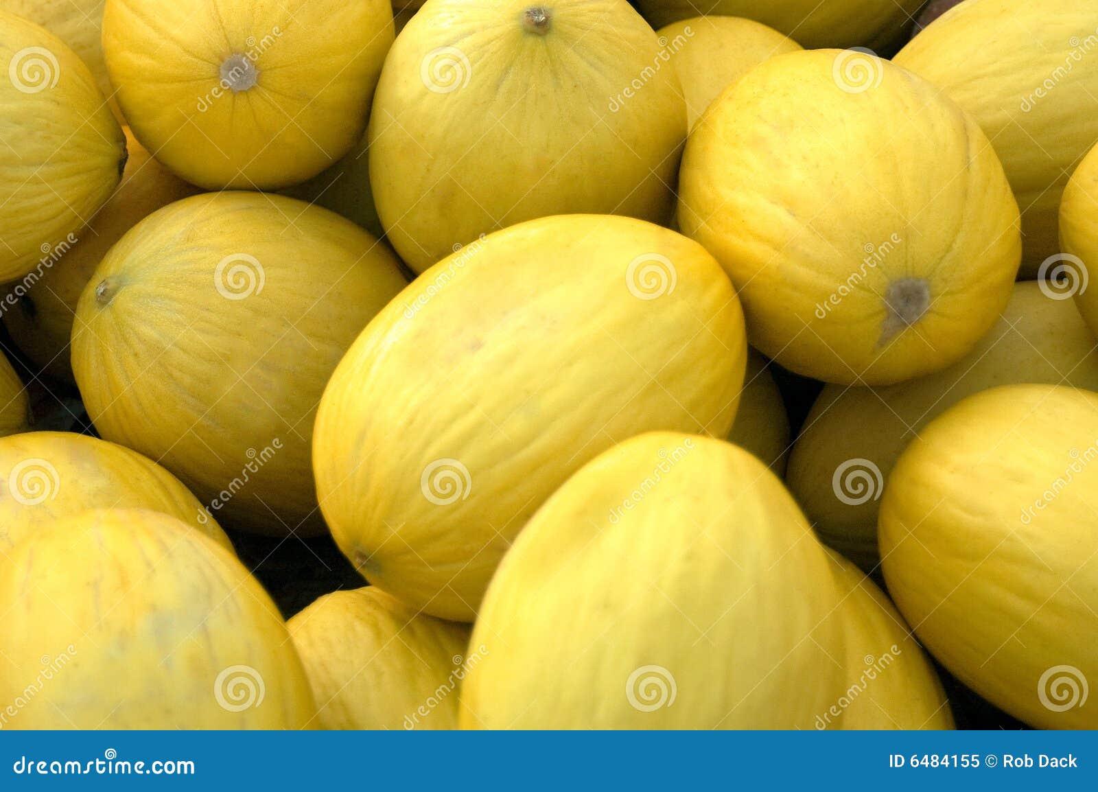 Melons jaunes