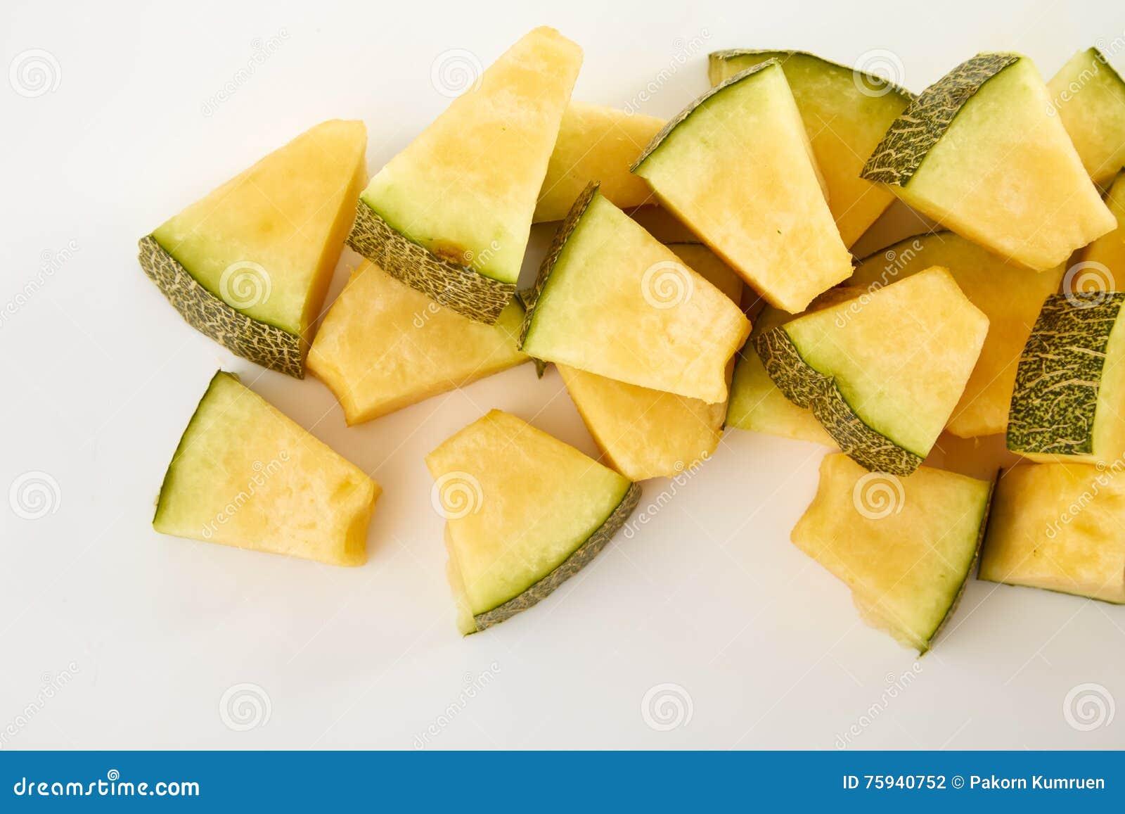 Melonu cięcie