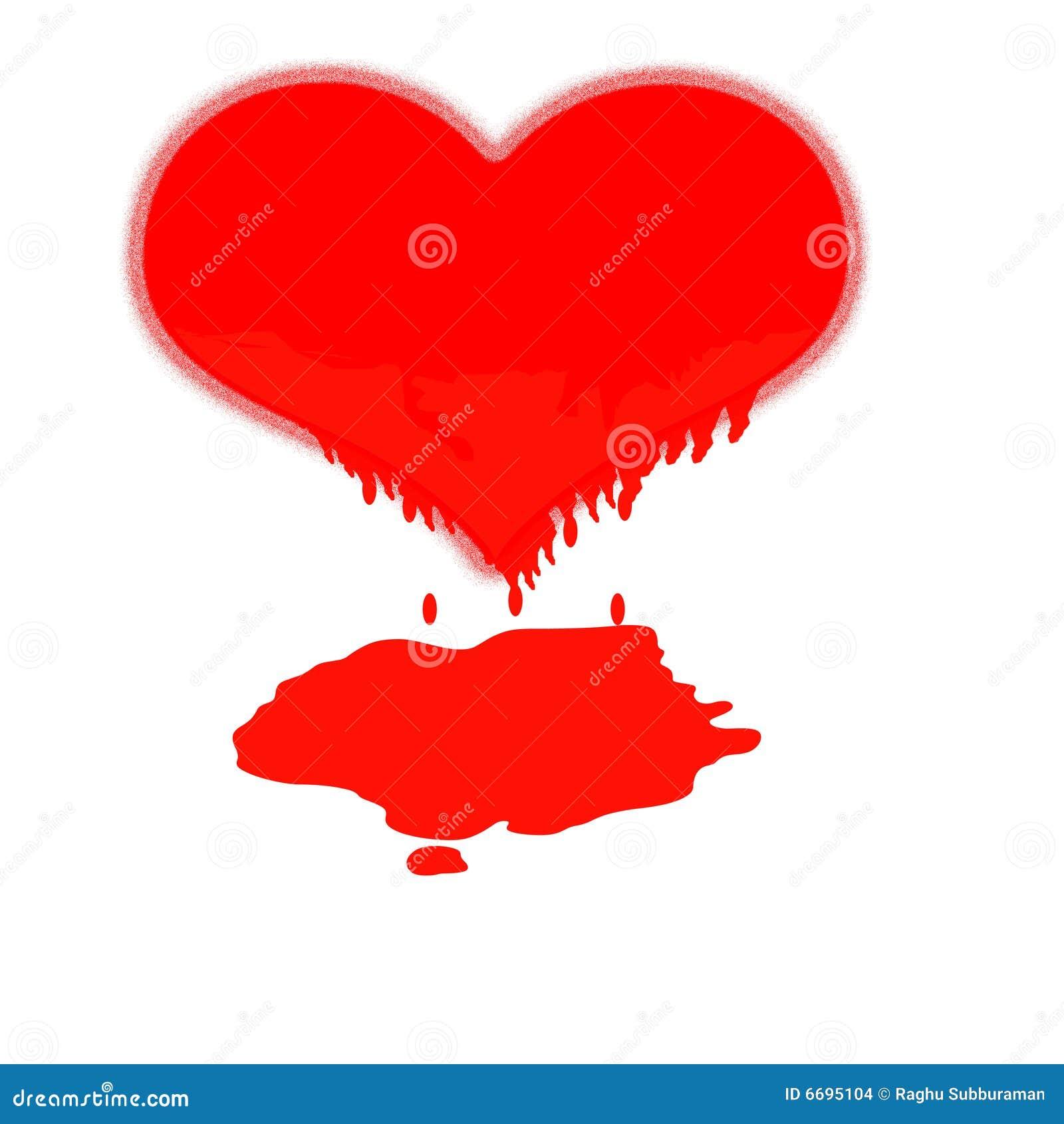 Download Melting heart stock illustration. Illustration of love - 6695104