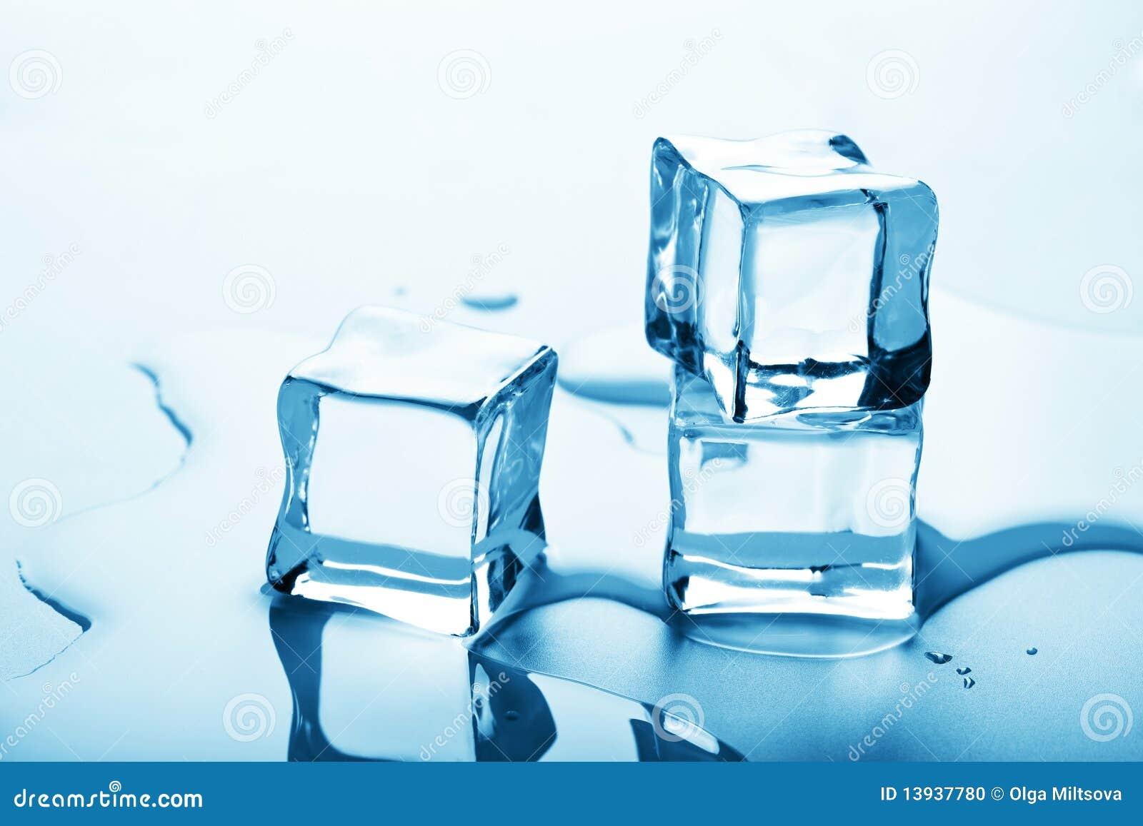 Ice cube melting on my big tits 3