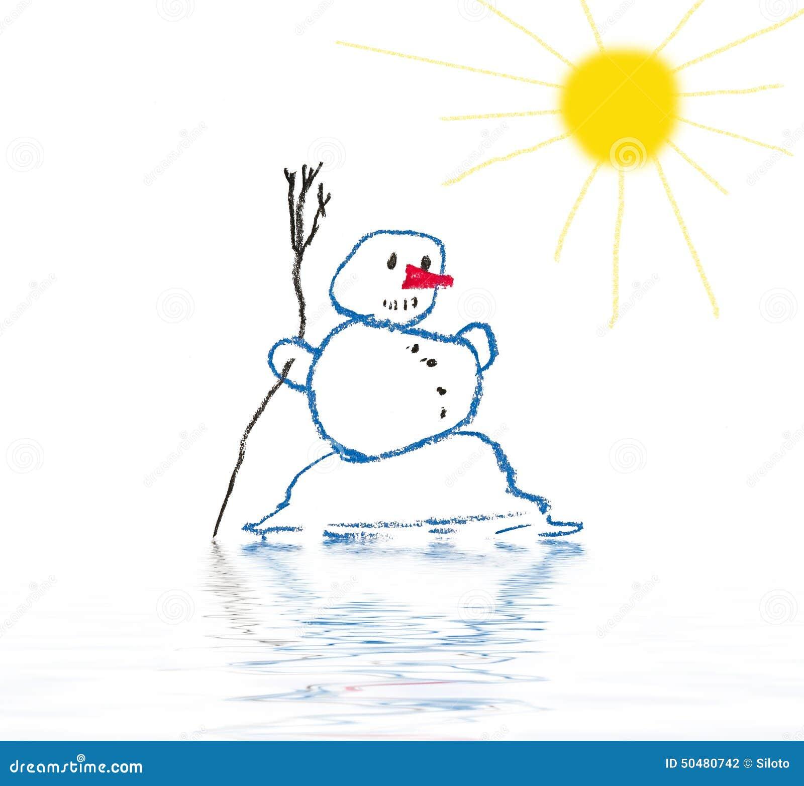 Melting Snowman Stock Illustrations – 107 Melting Snowman Stock ... for Melting Snowman Clipart  165jwn