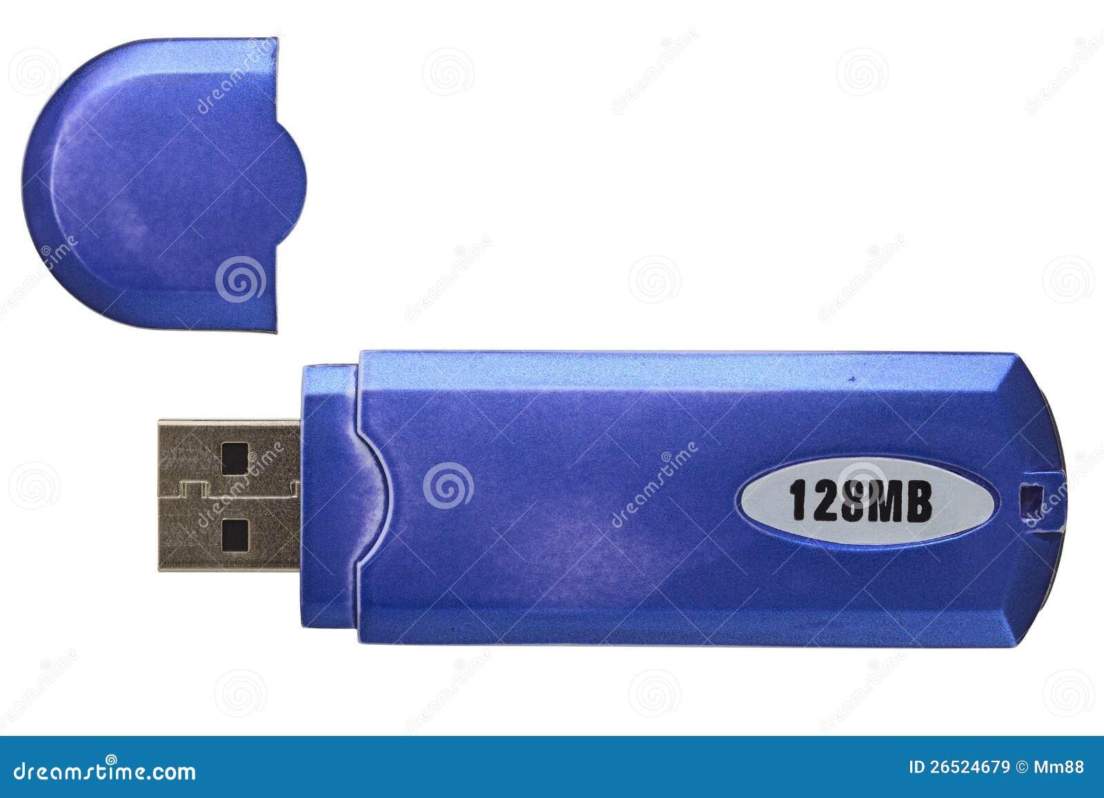 Memória Flash velha do USB
