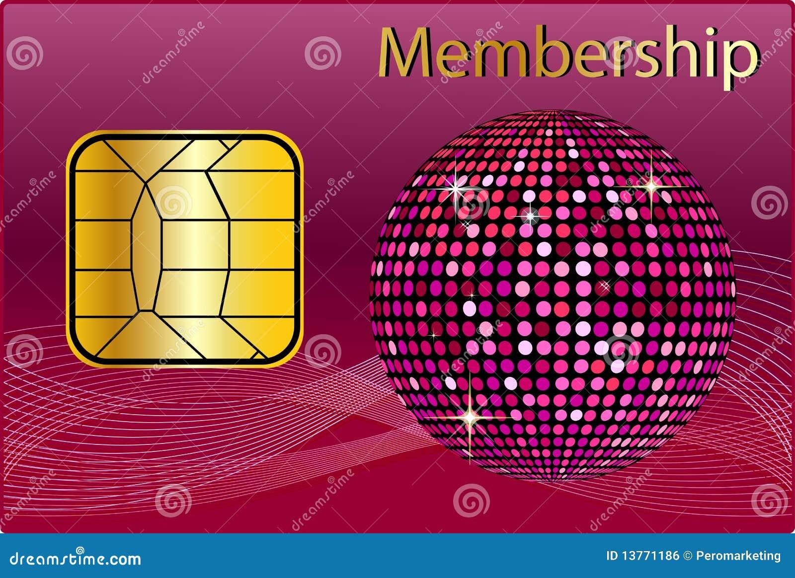 membership card royalty free stock image