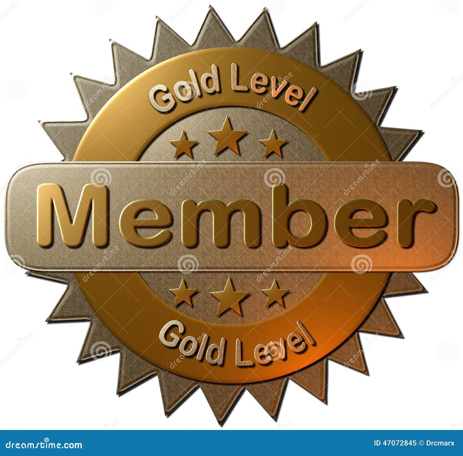 Membre De Niveau D or (phoque) Illustration Stock - Illustration du ... 32eeba130c