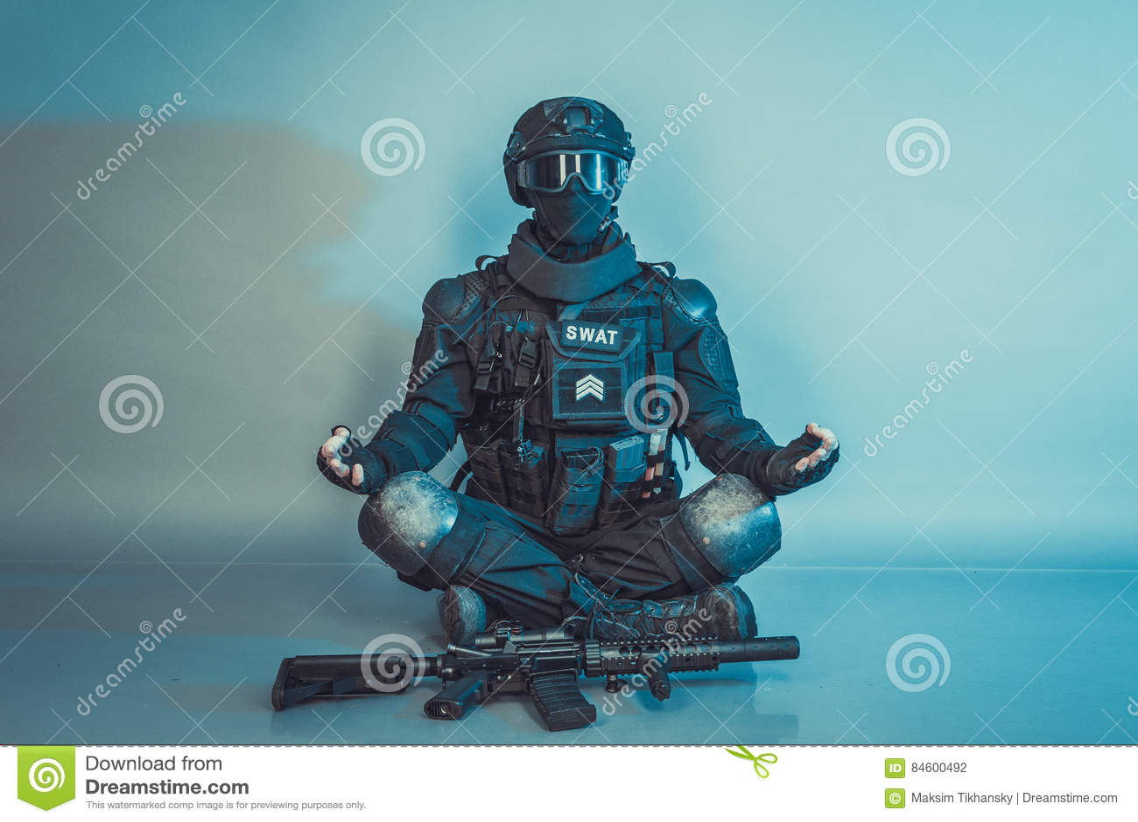 Membro della squadra dello SCHIAFFO