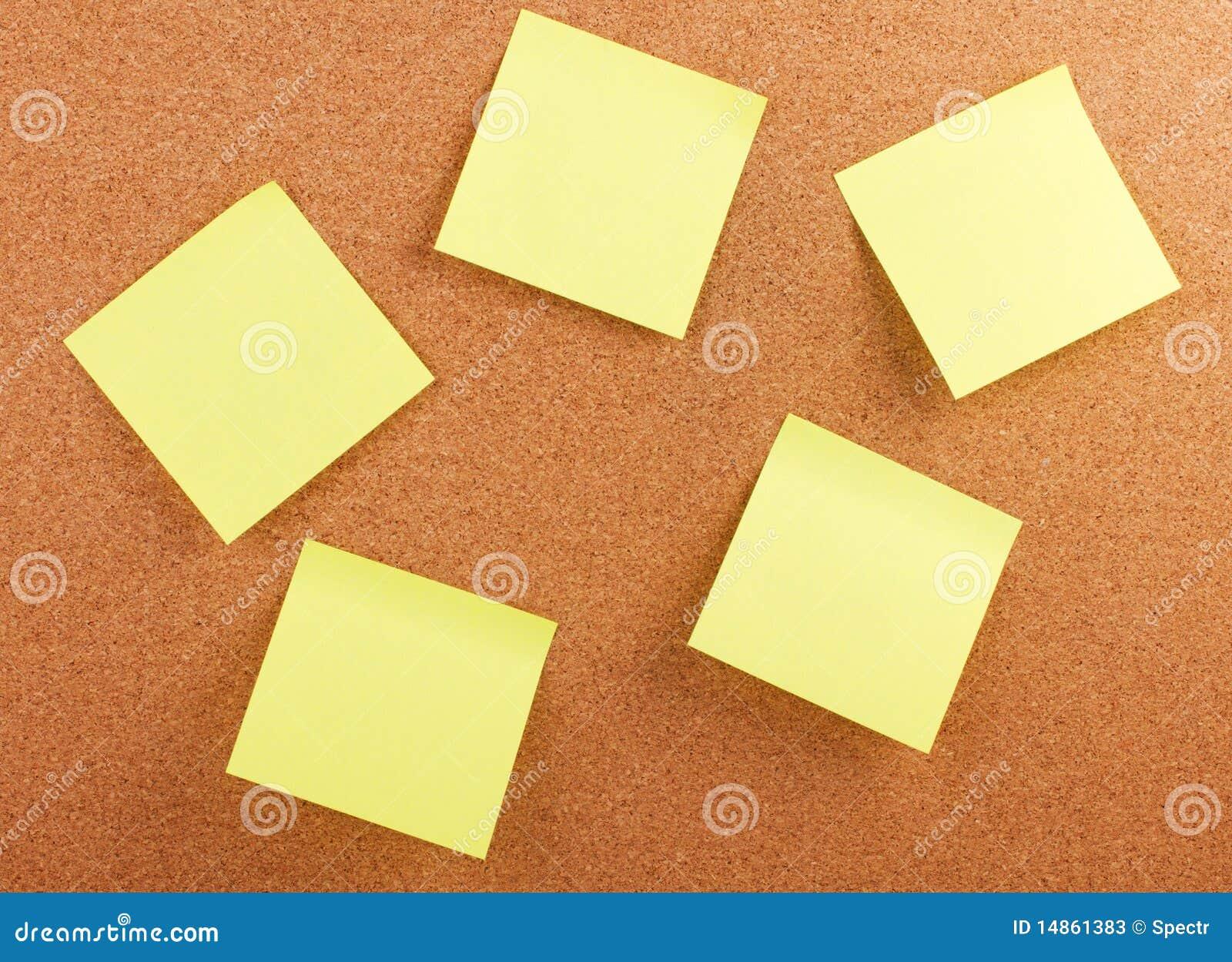Memo cork board