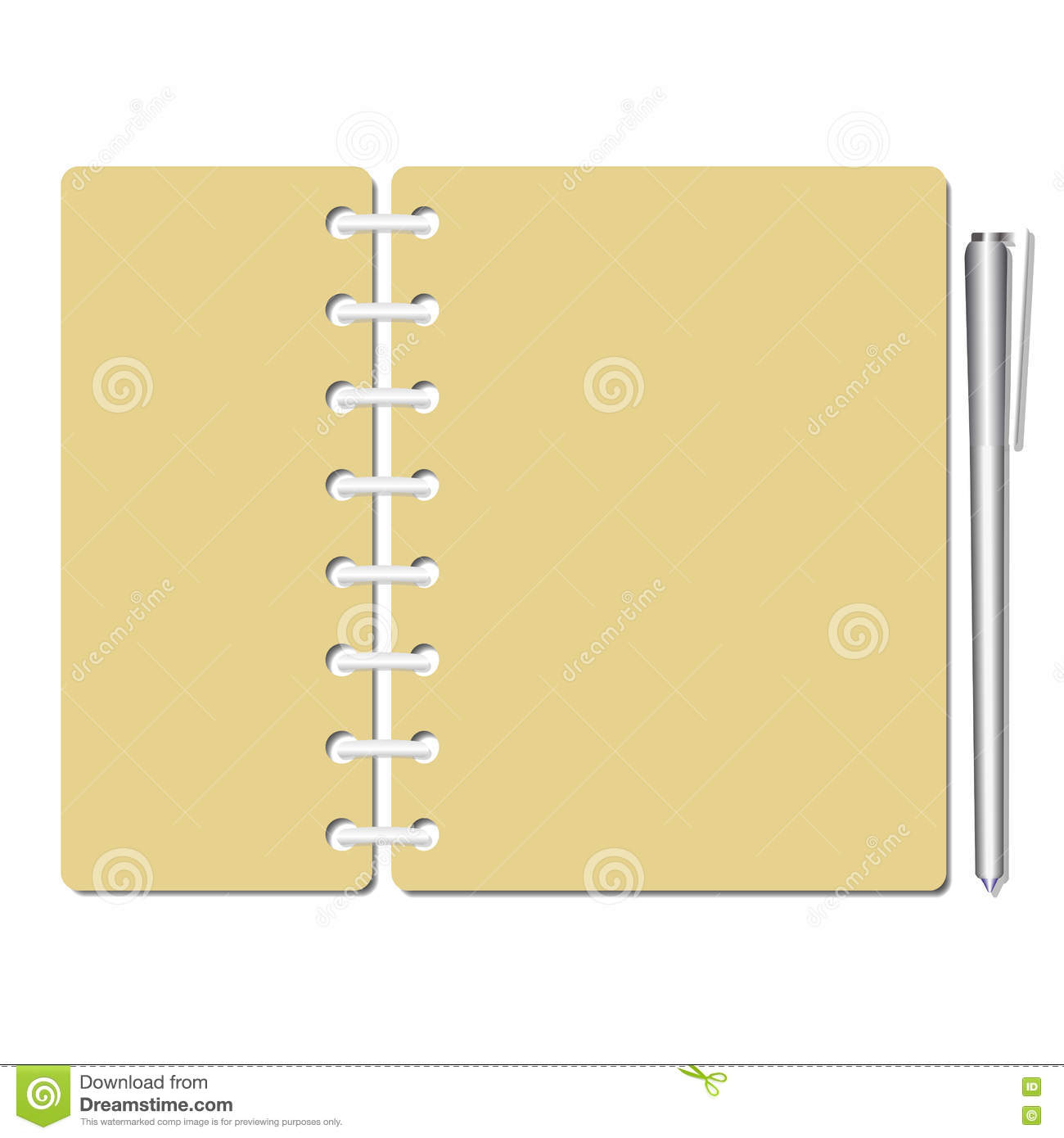 memo sheets template stock vector image 80350399 memo sheets template