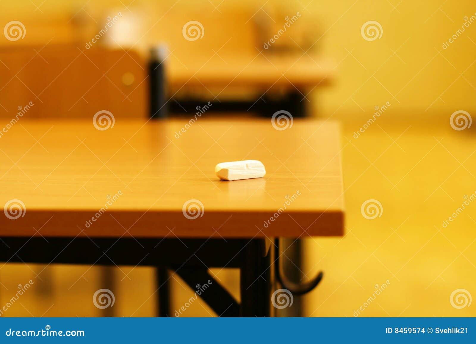 Memoria de la sala de clase de la escuela