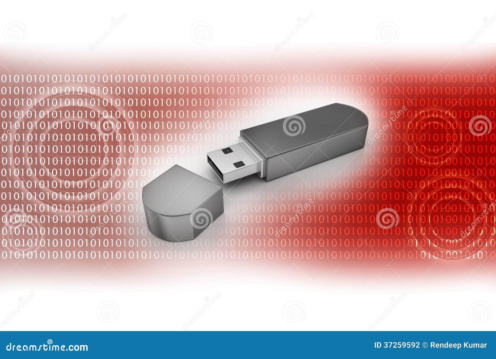 Memoria Flash del USB