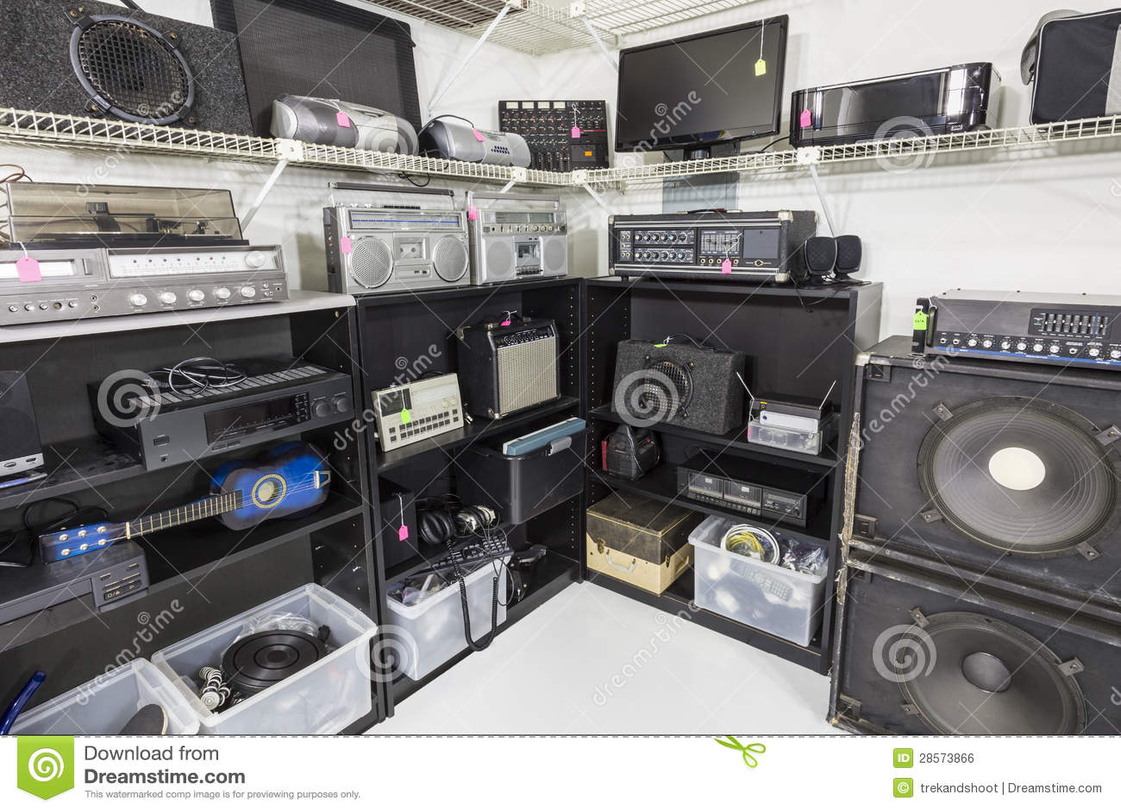 Memoria interna di elettronica e di musica