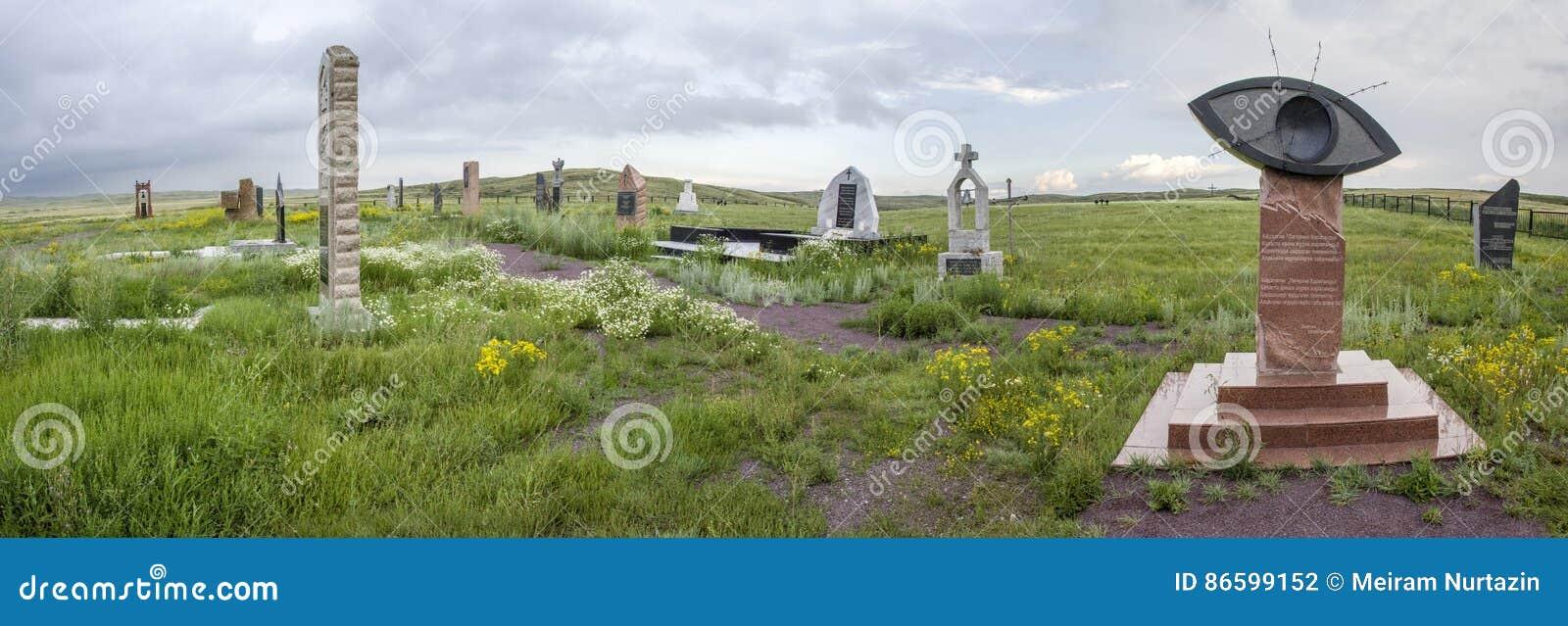 Memorial aos prisioneiros de KarLang em Spassky