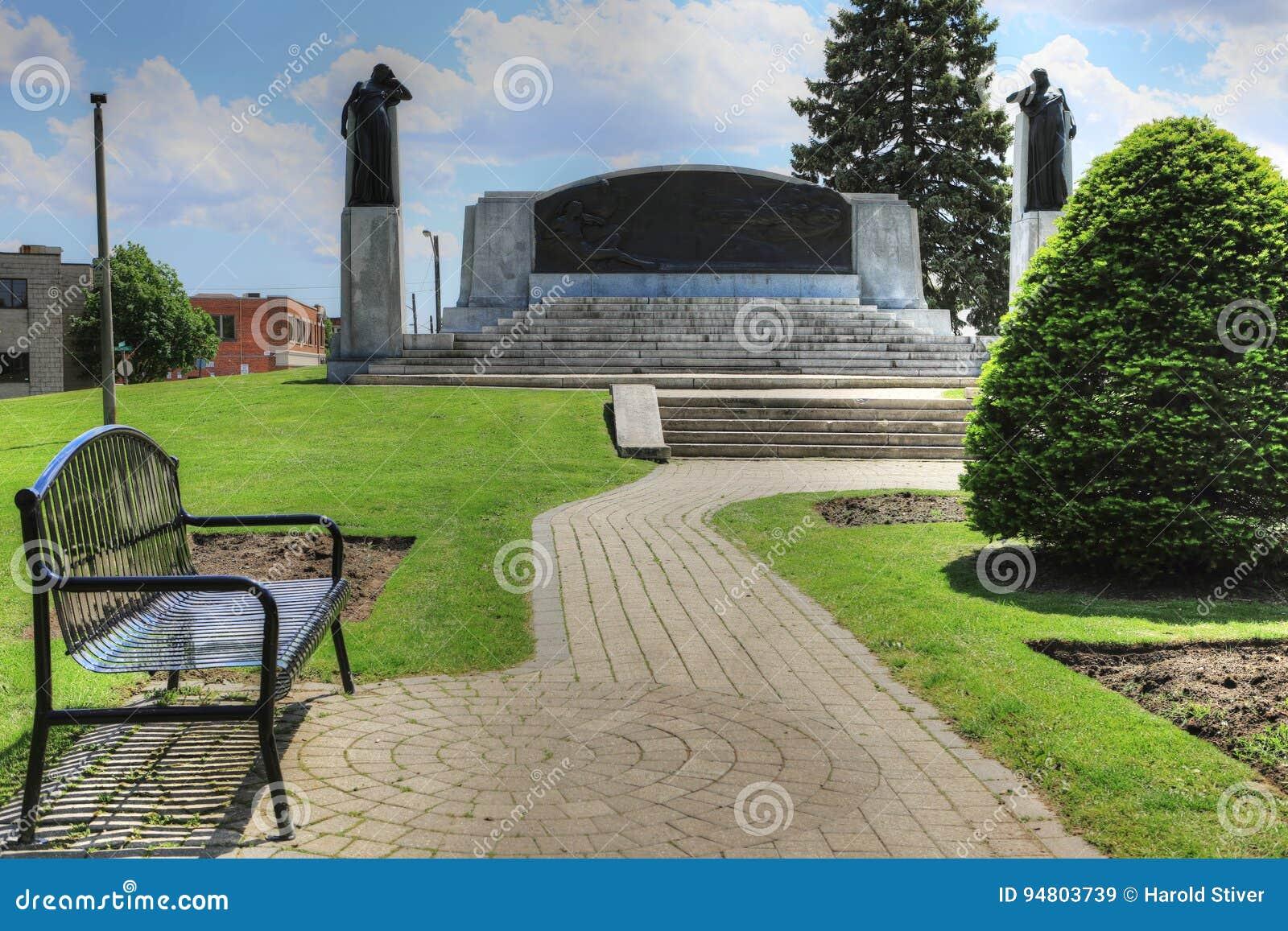 Memorial in Brantford, Canada to Alexander Graham Bell