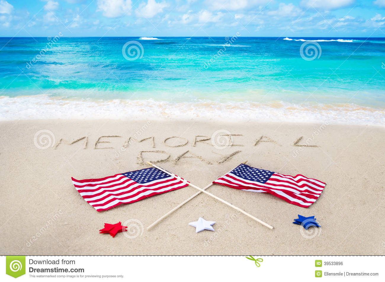 Memorial Day Background Stock Photo Image Of Memorial