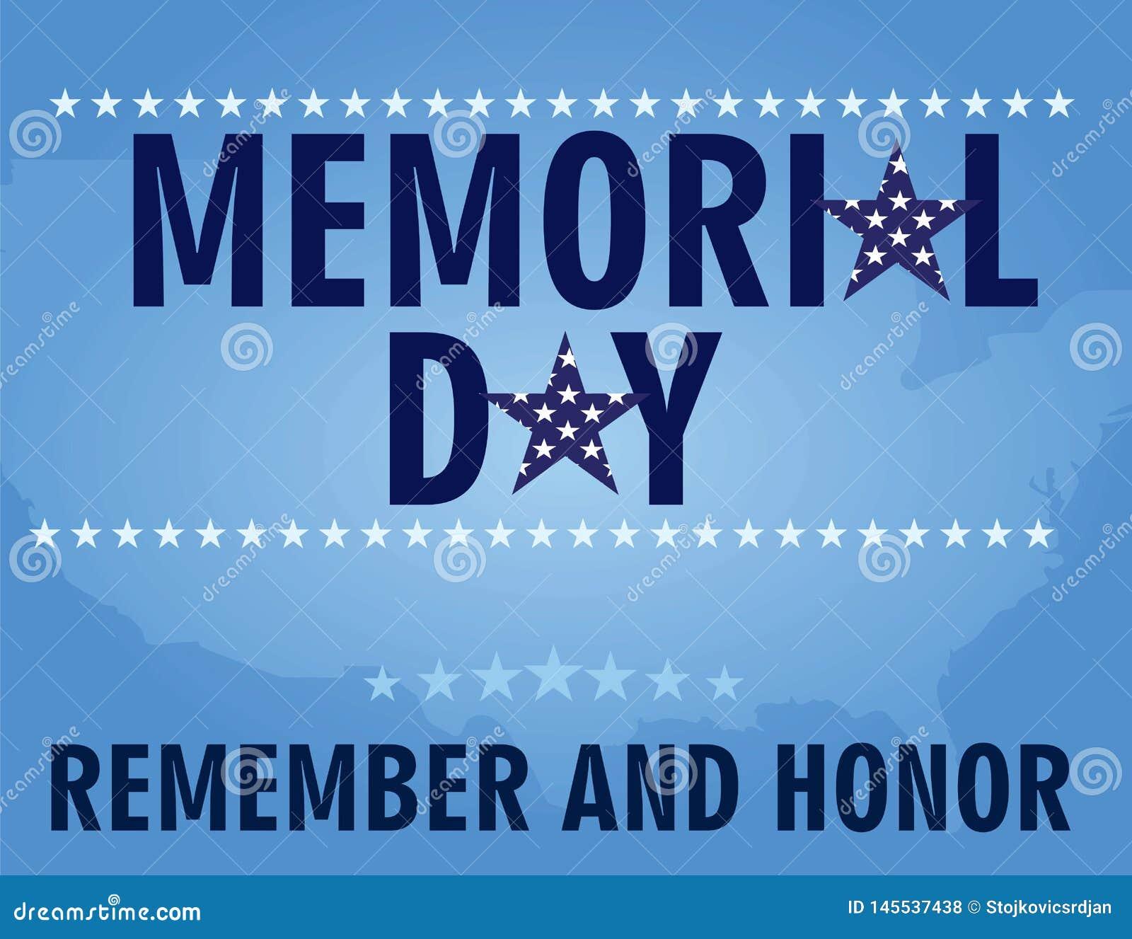 Memorial day card
