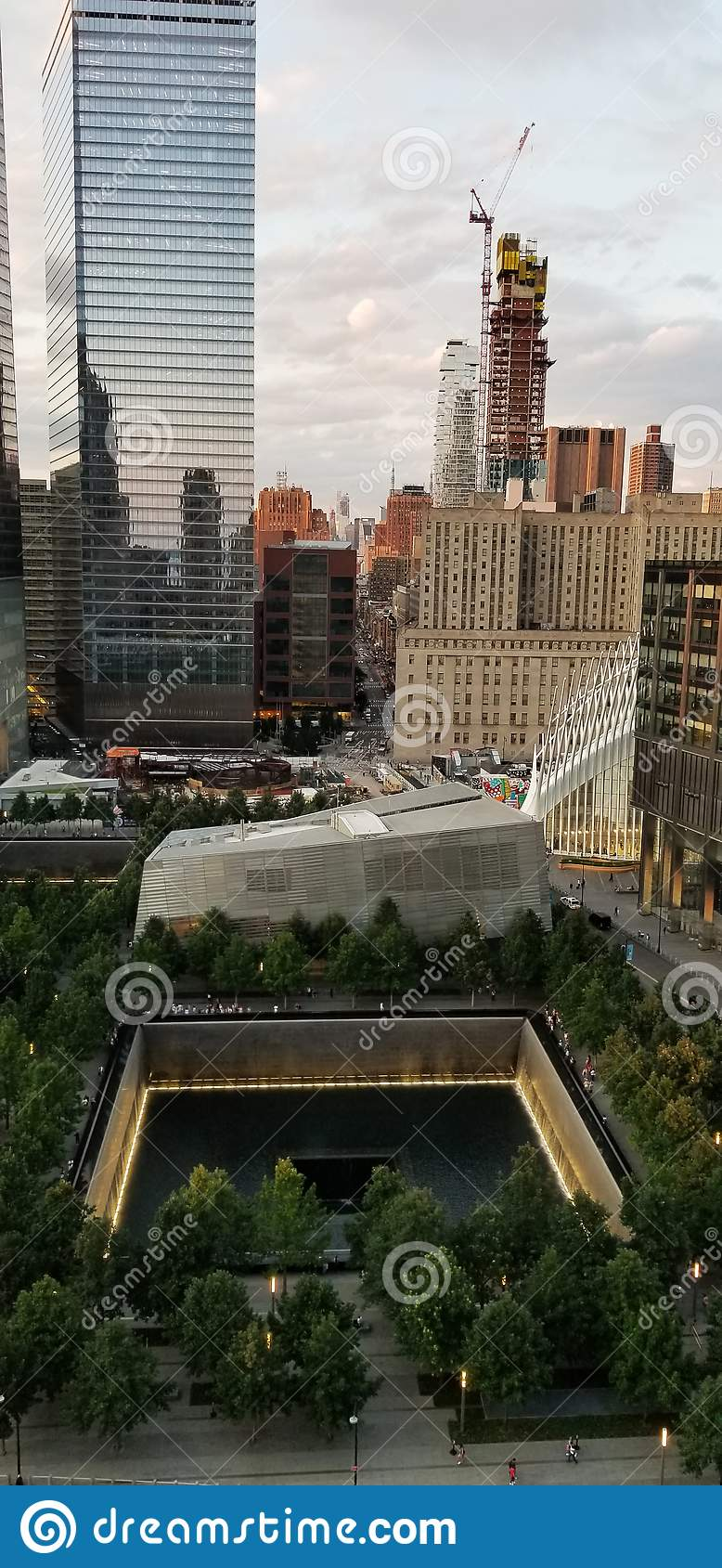 9/11 Memorial Museum August 9, 2019 View From Above