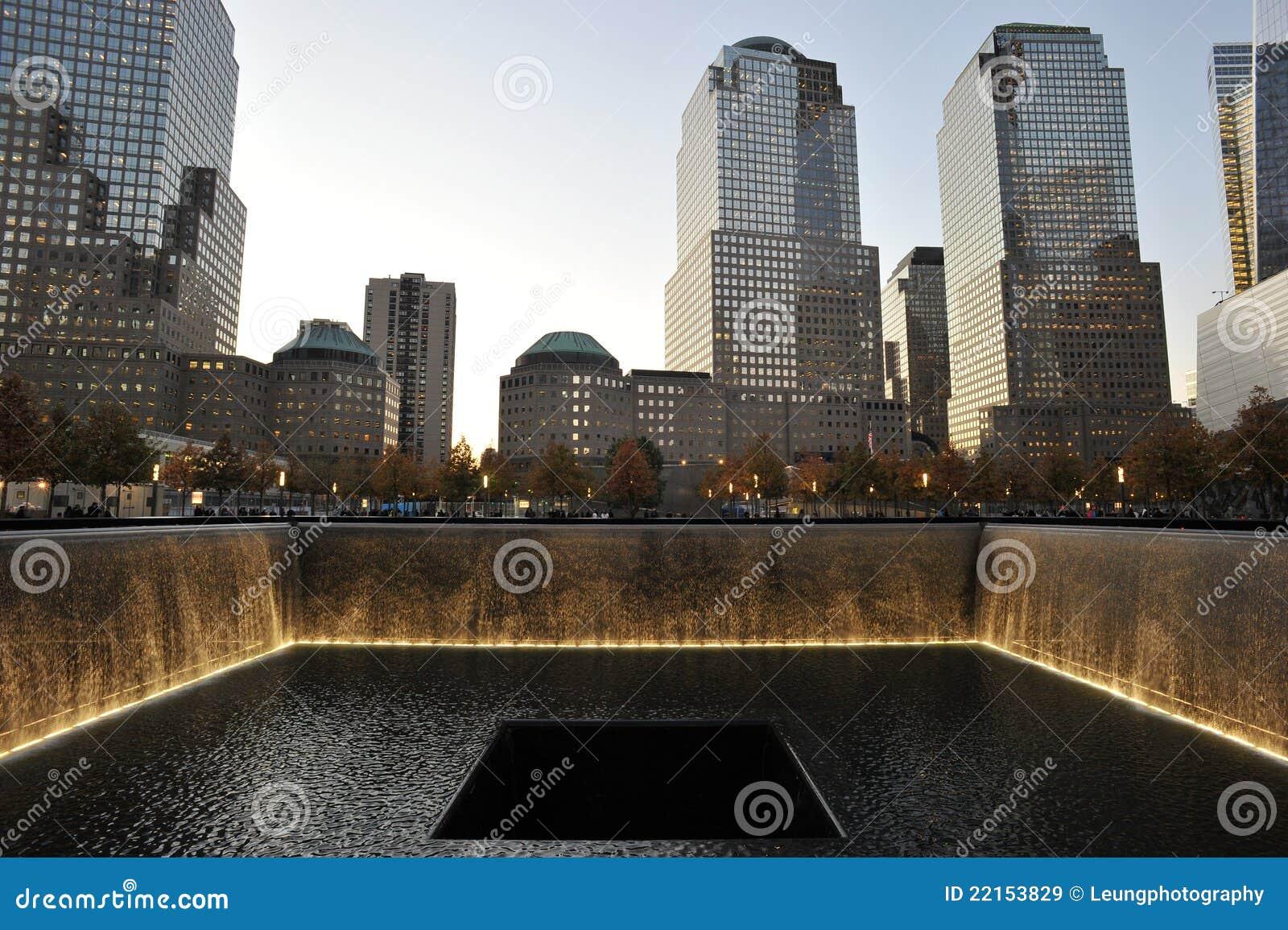 Memorial pools at national september 11 memorial editorial for Pool trade show new york