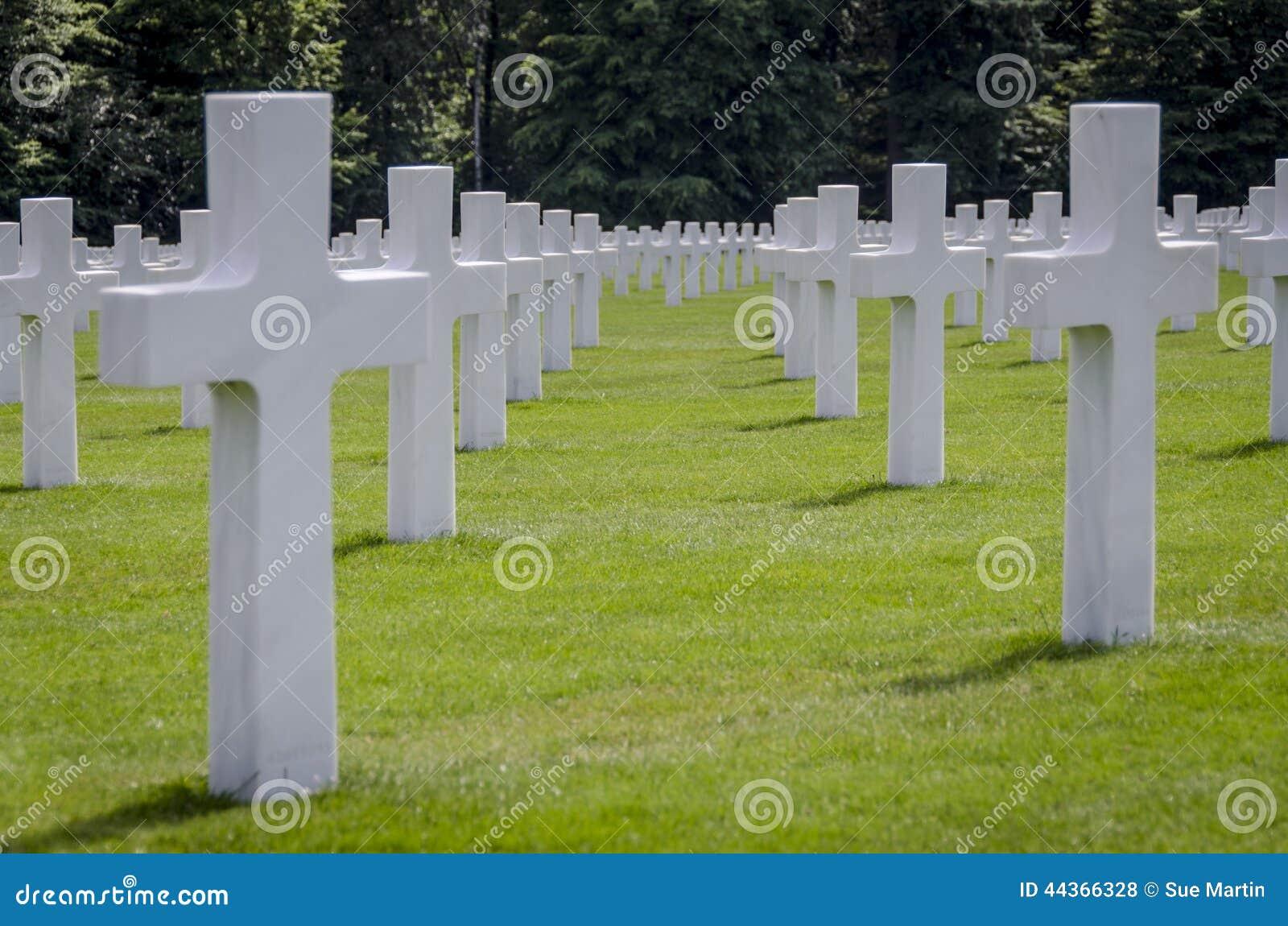 Memoriale di guerra americano del cimitero del Lussemburgo