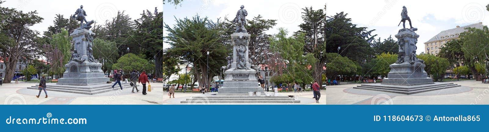 Memoriale a Ferdinand Magellan a Punta Arenas, Cile