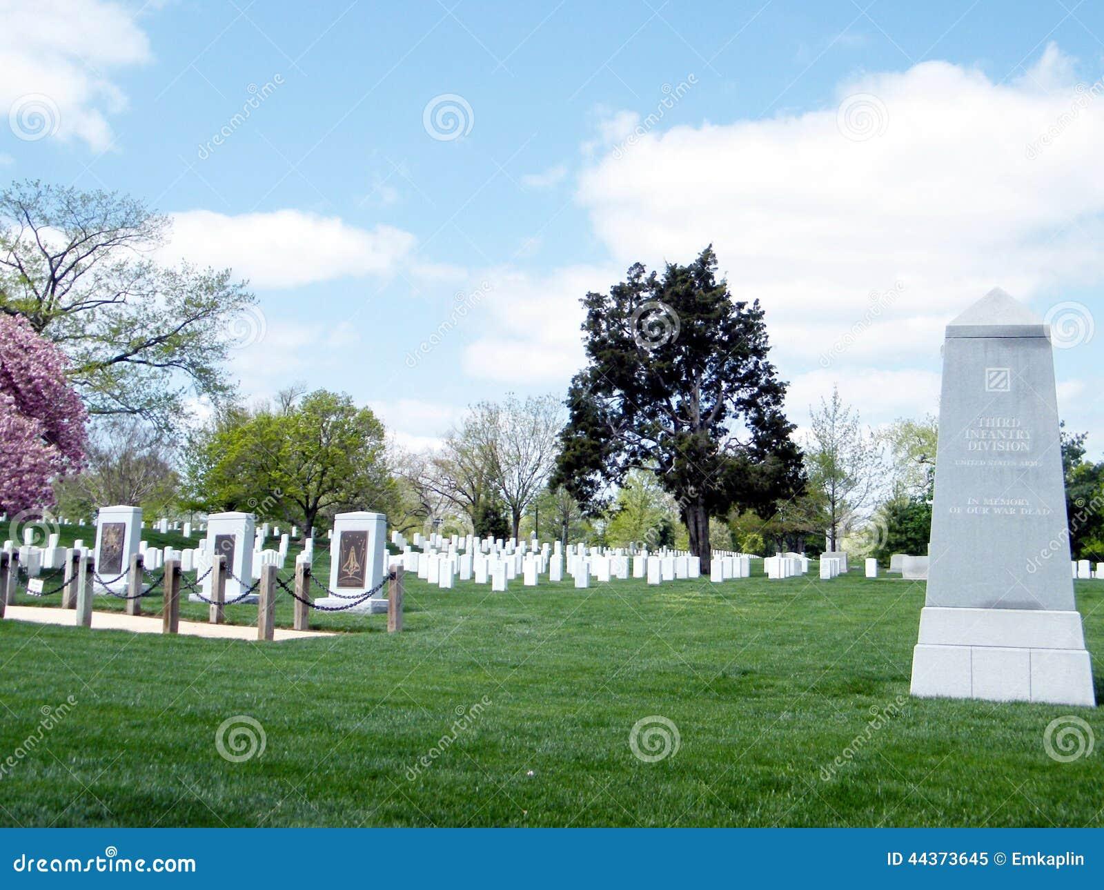 Memoriali 2010 del cimitero di Arlington