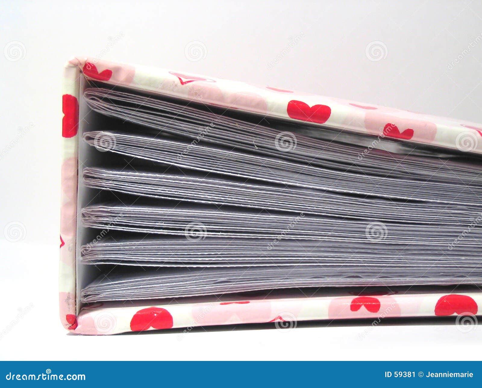 Memorias de la tarjeta del día de San Valentín