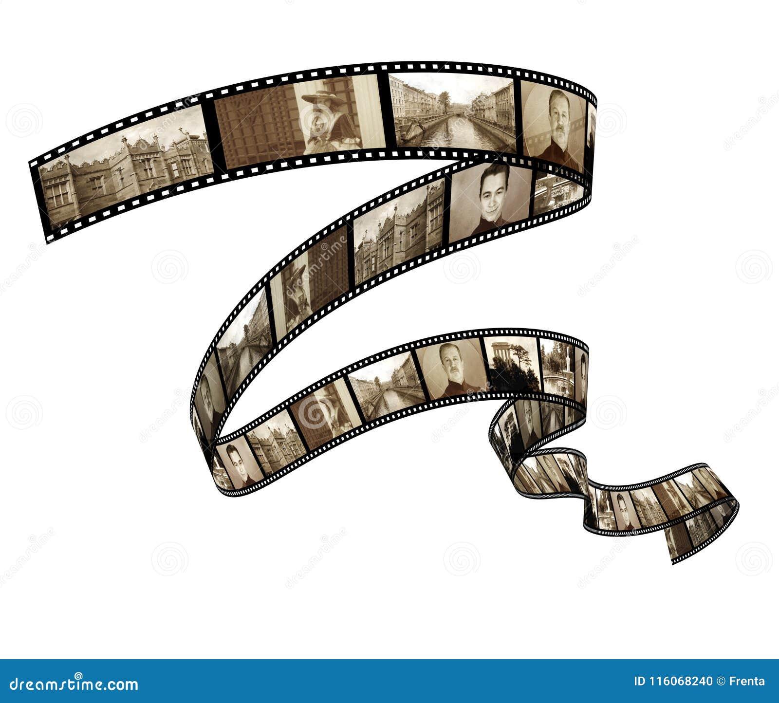 Memorias - foto retra con el filmstrip