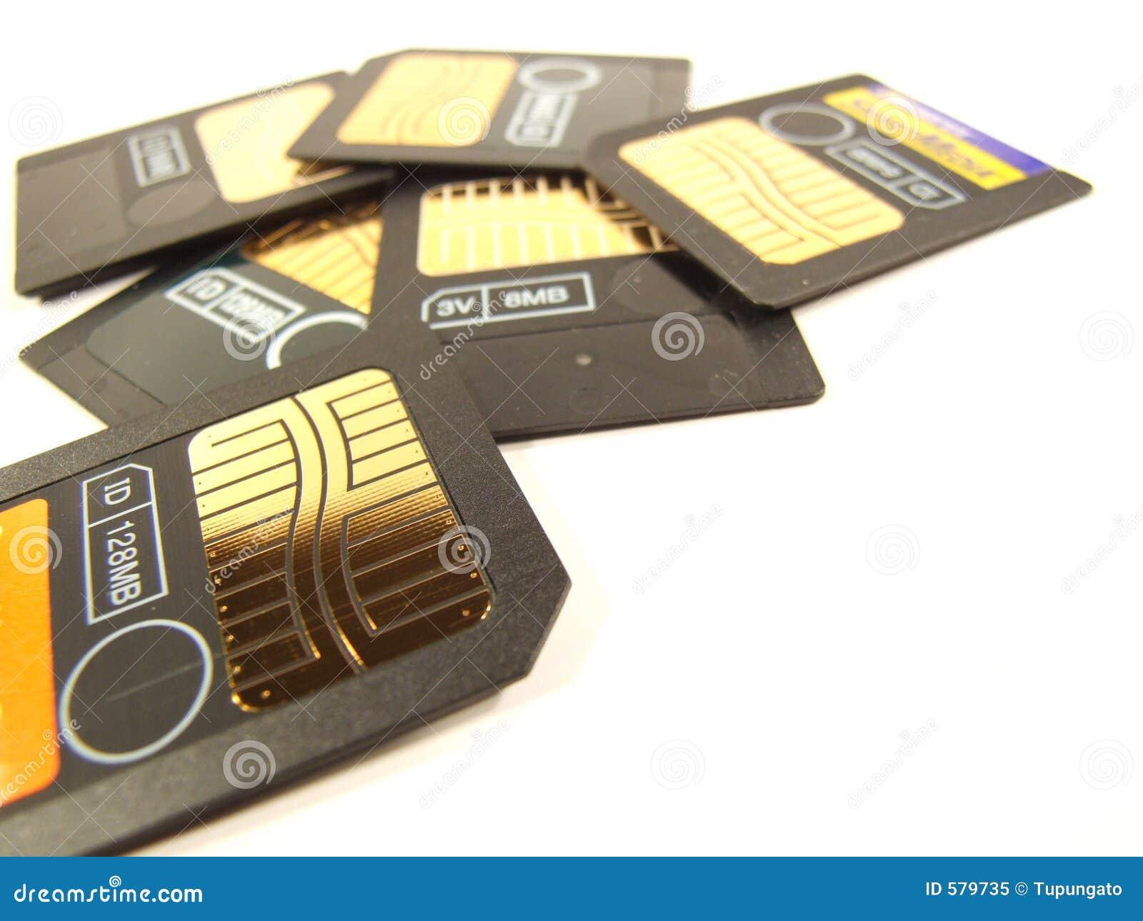 Memory cards lot