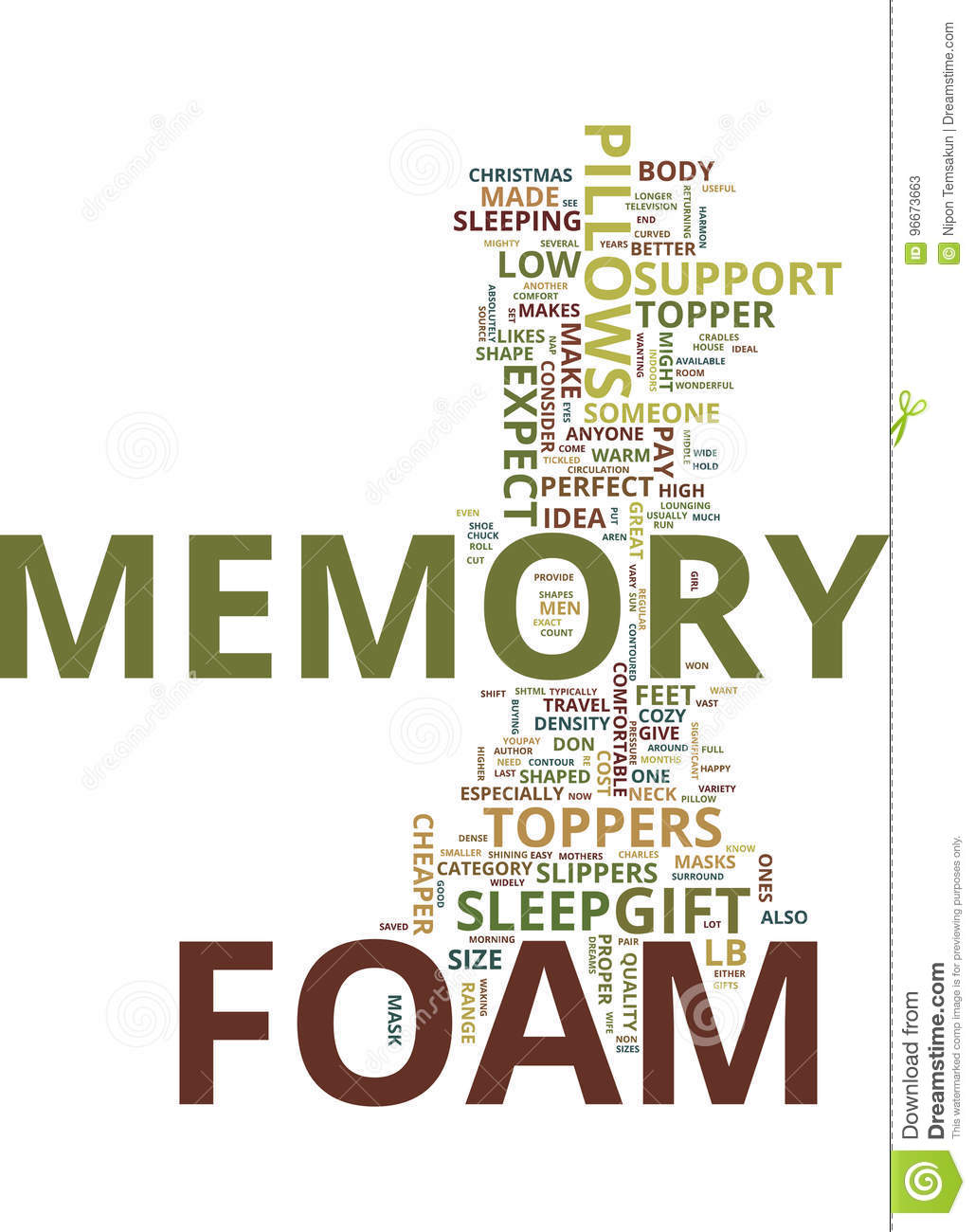 Memory Foam The Perfect Christmas Gift Idea For Your Sweetheart Text ...