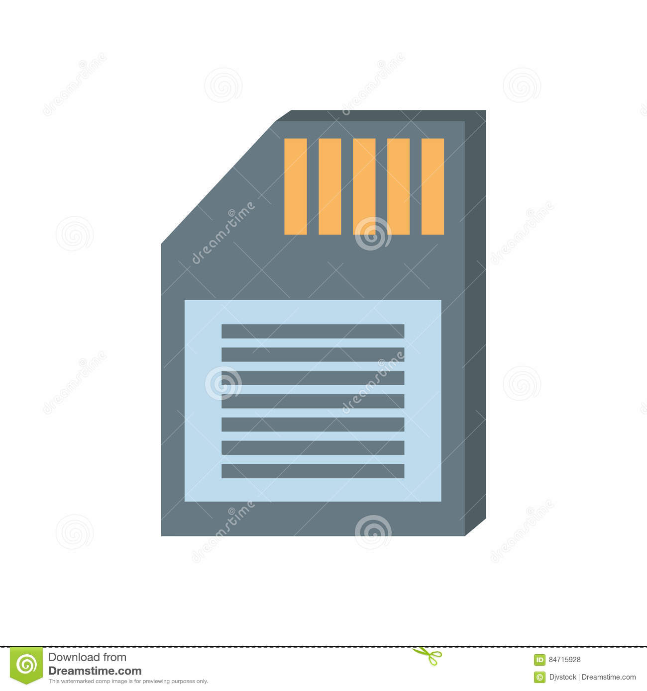 Memory sd card back icon stock illustration illustration of card memory sd card back icon pooptronica Choice Image