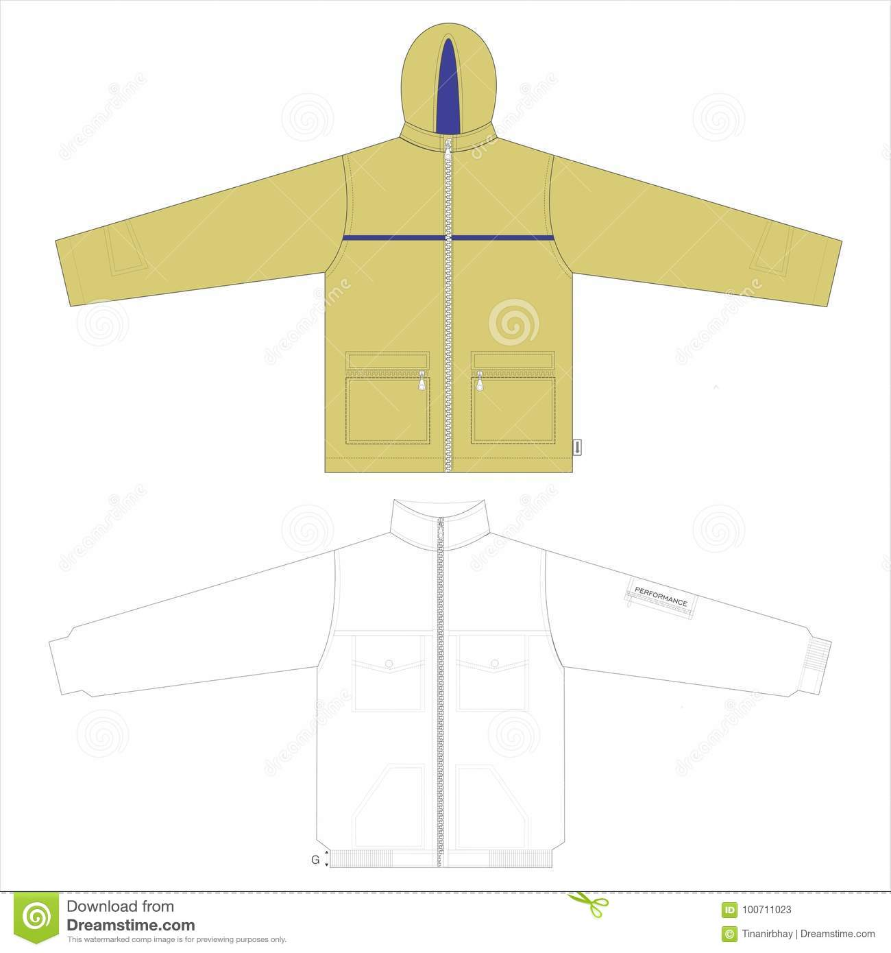 menâ s clothes templates vector stock vector illustration of