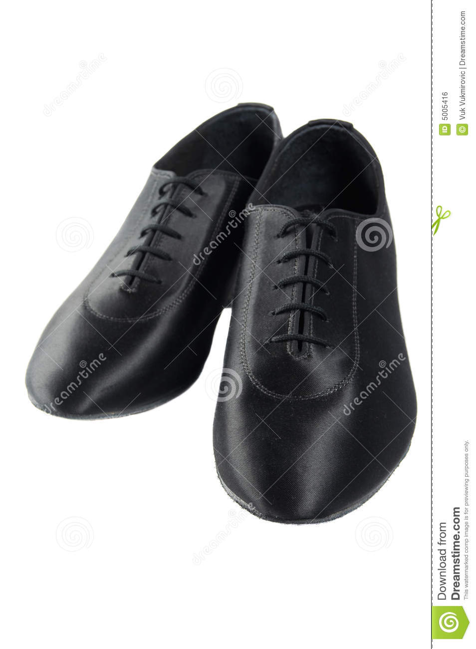 Men Dance Shoes Royalty Free Stock Image - Image: 5005416