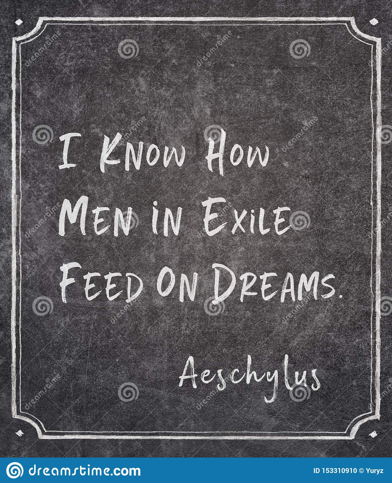 Men in exile Aeschylus