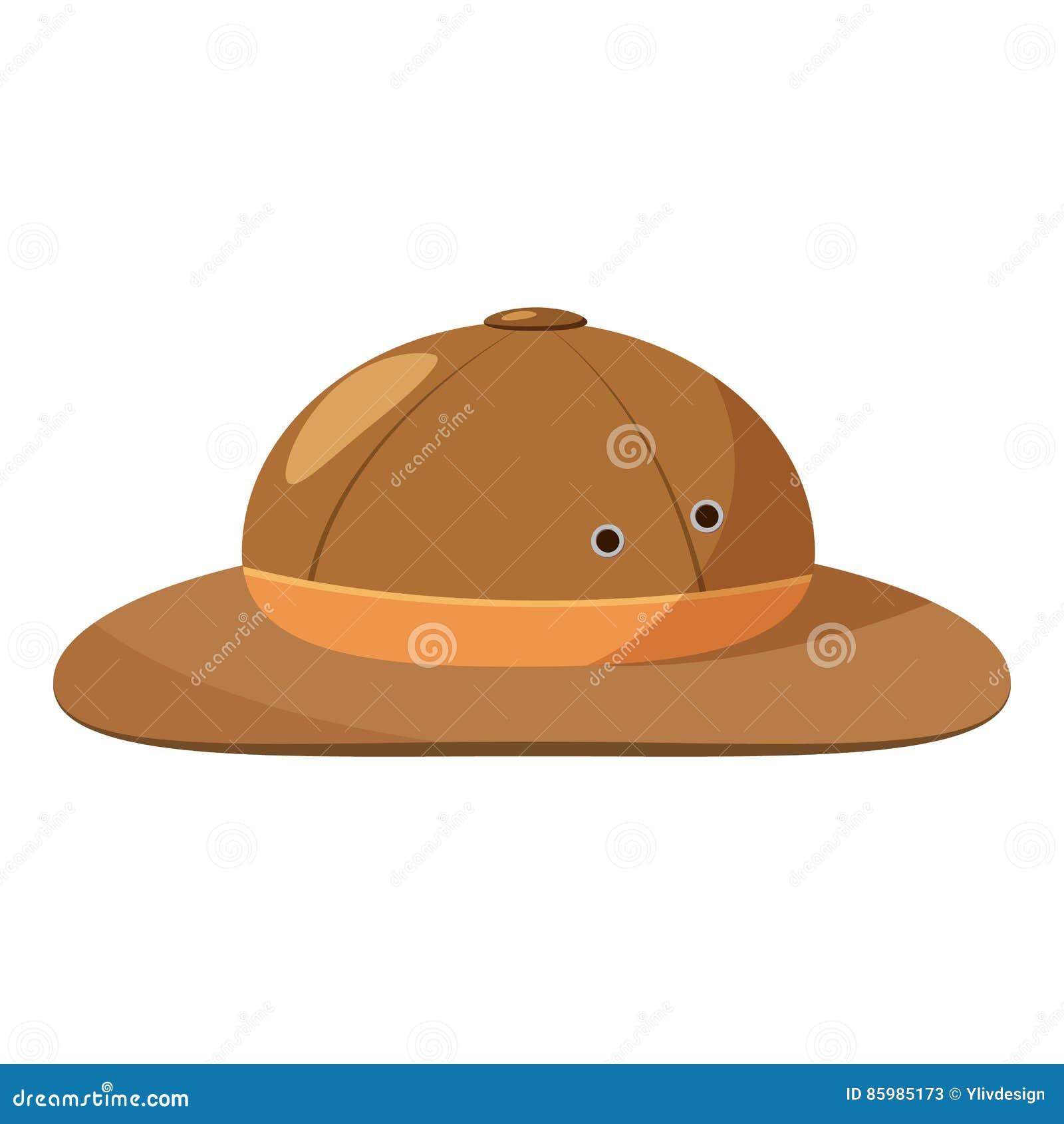 e6ed3df69ccfe Men Hiking Hat Icon, Cartoon Style Stock Vector - Illustration of ...