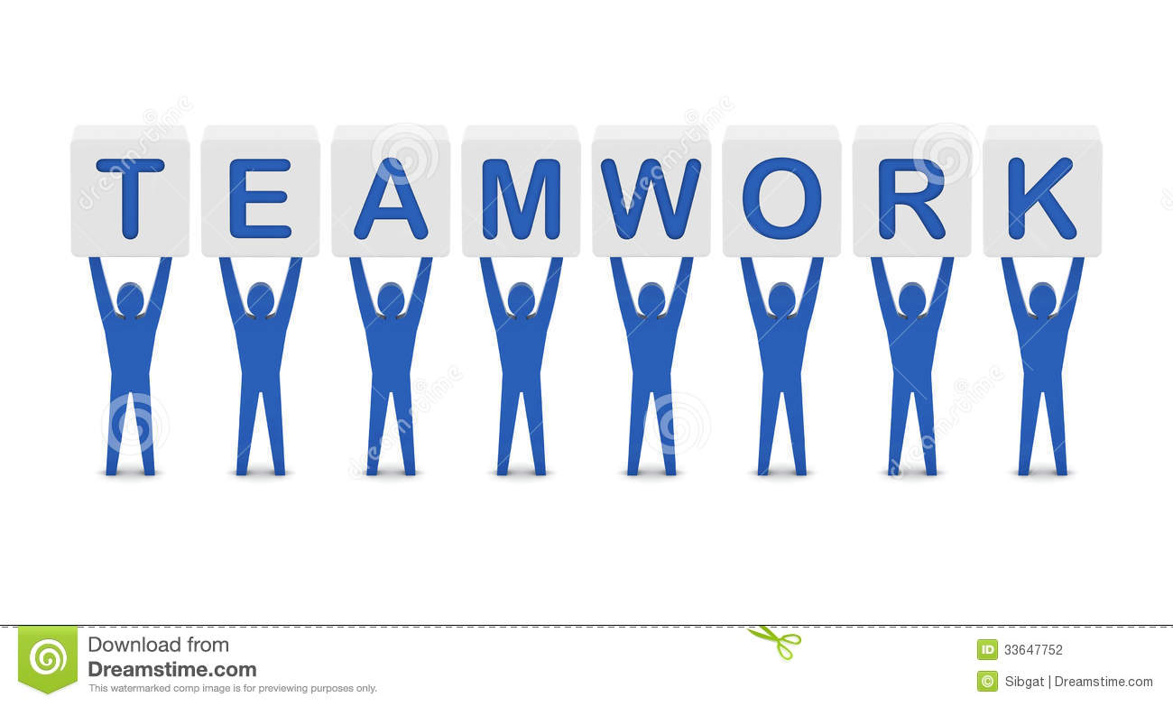 Men Holding The Word Teamwork. Stock Photography - Image: 33647752: dreamstime.com/stock-photography-men-holding-word-teamwork-concept...