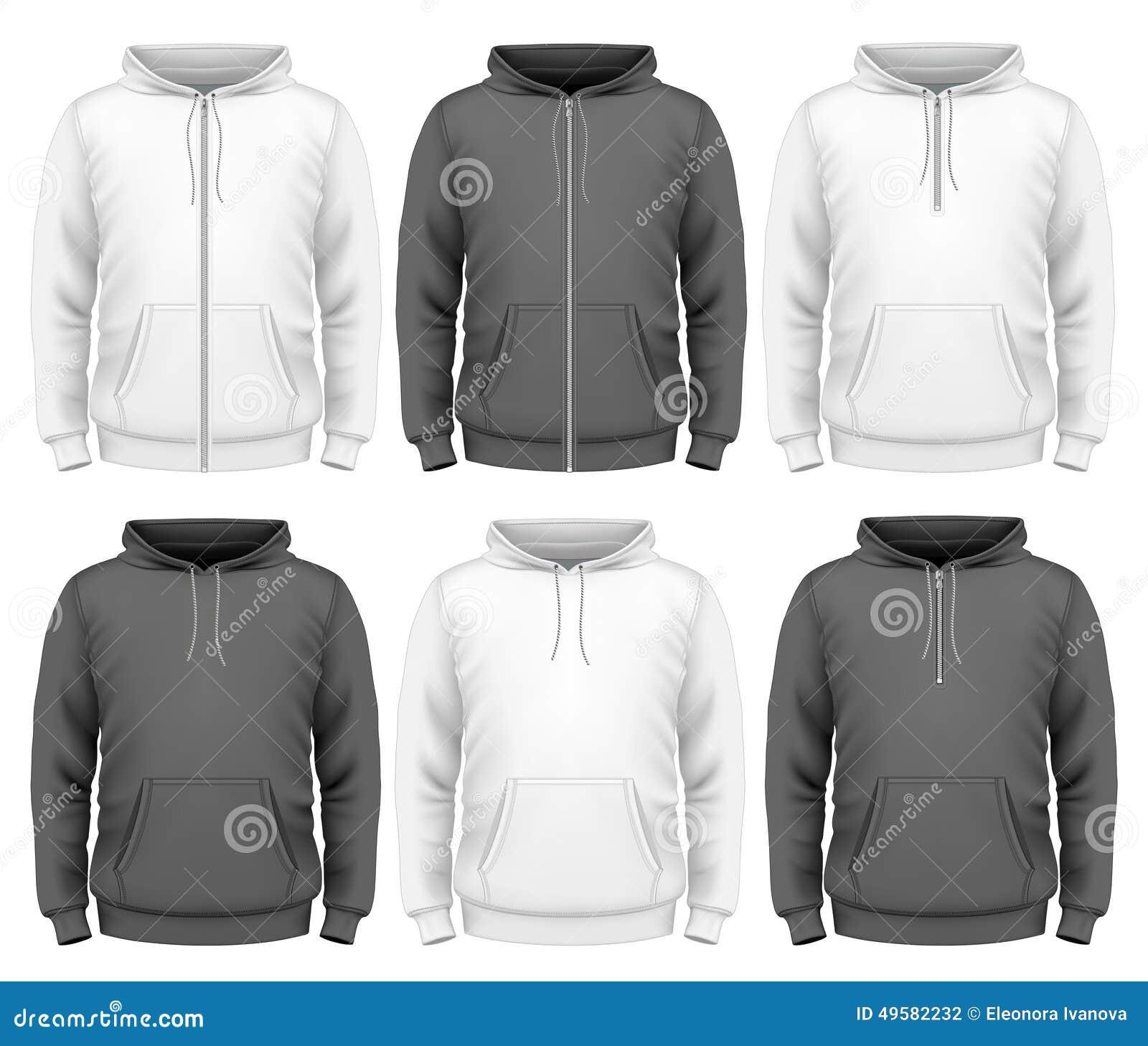 Men hoodie stock vector. Illustration of illustration - 49582232
